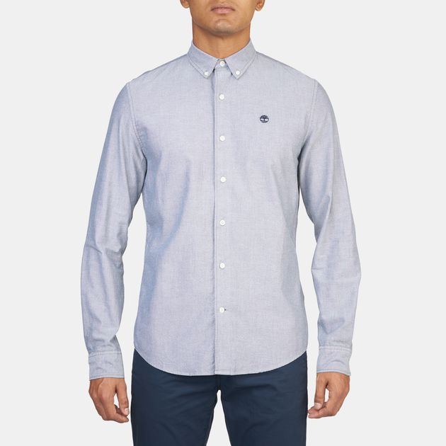 Timberland Slim Rattle River Oxford Long Sleeve Shirt