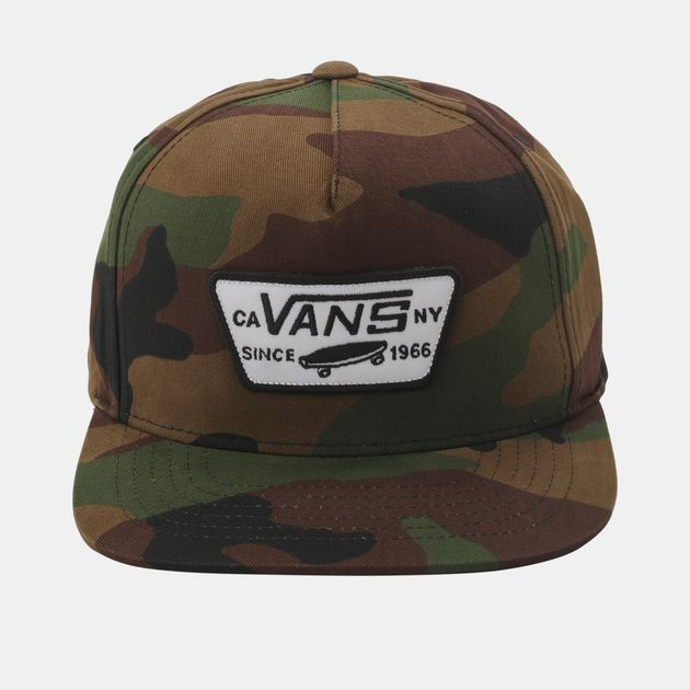 57c5cdb2a5f Vans Full Patch Snapback Cap - Green