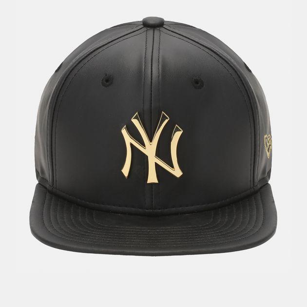 New Era Metal Prime NY Yankees Cap - Black