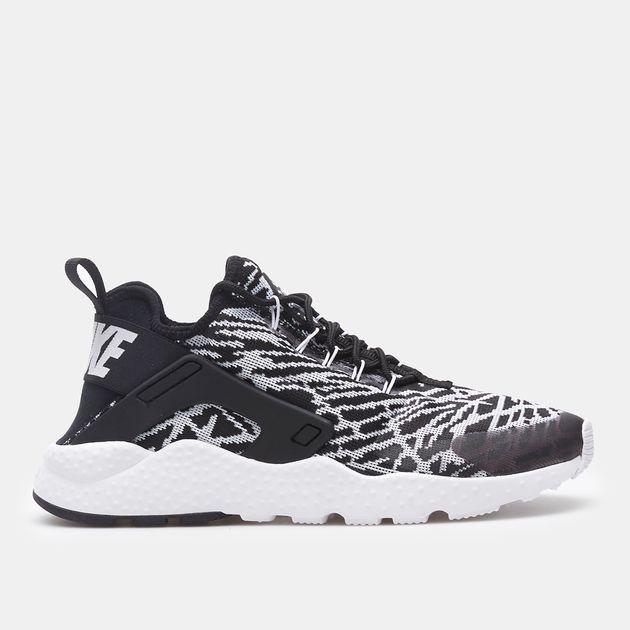 new arrival f8835 66a21 Shop Black Nike Air Huarache Run Ultra JCRD Shoe for Womens by Nike ...