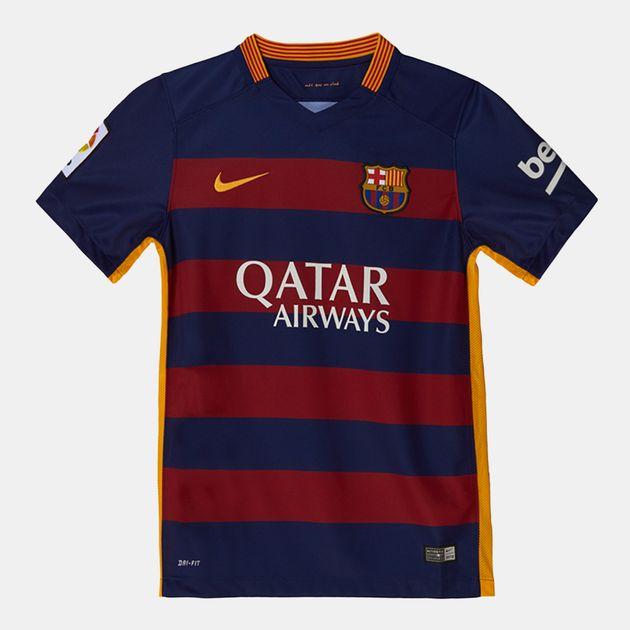 قميص جيرسي برشلونة الأصلي للصغار من نايك