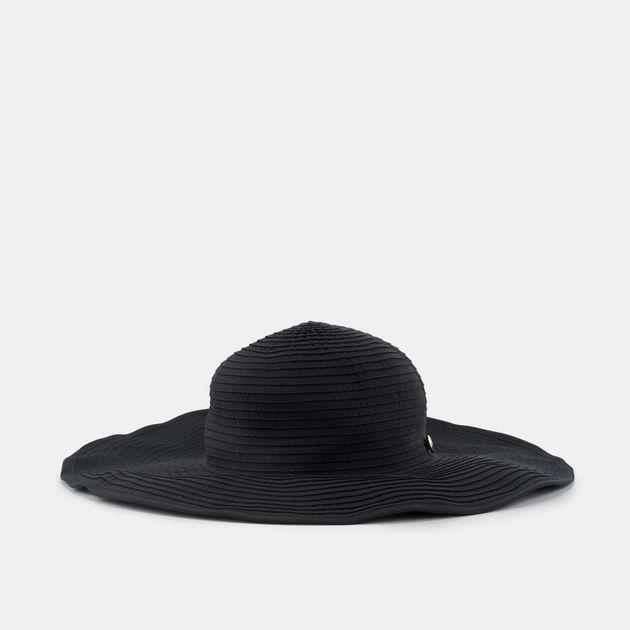 Seafolly Shady Lady Lizzy Hat - Black 09d65766a41f