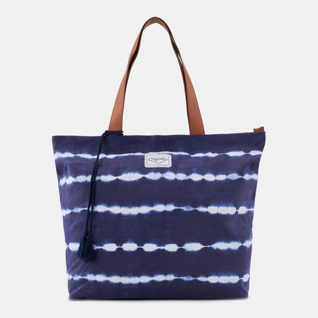 Rip Curl White Out Standard Tote Bag - Blue