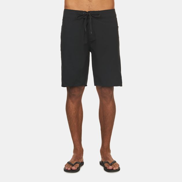 2c76b7c17d Shop Black Rip Curl Mirage Core Solid Surfing Boardshorts for Mens ...