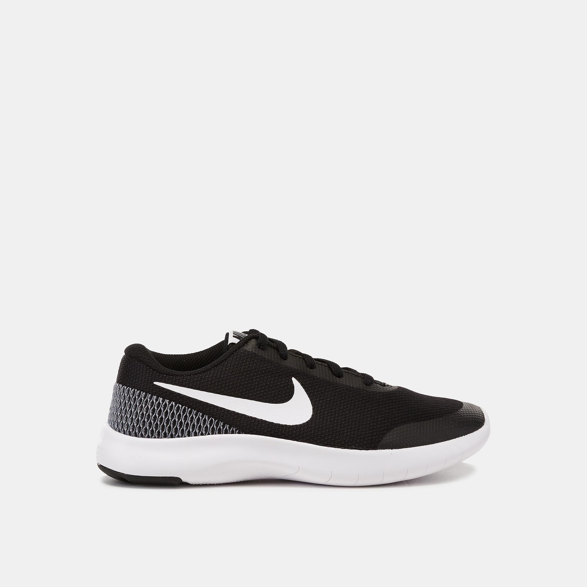 44c534bf9a2709 Shop Black Nike Kids  Flex Experience Run 7 Running Shoe (Grade ...