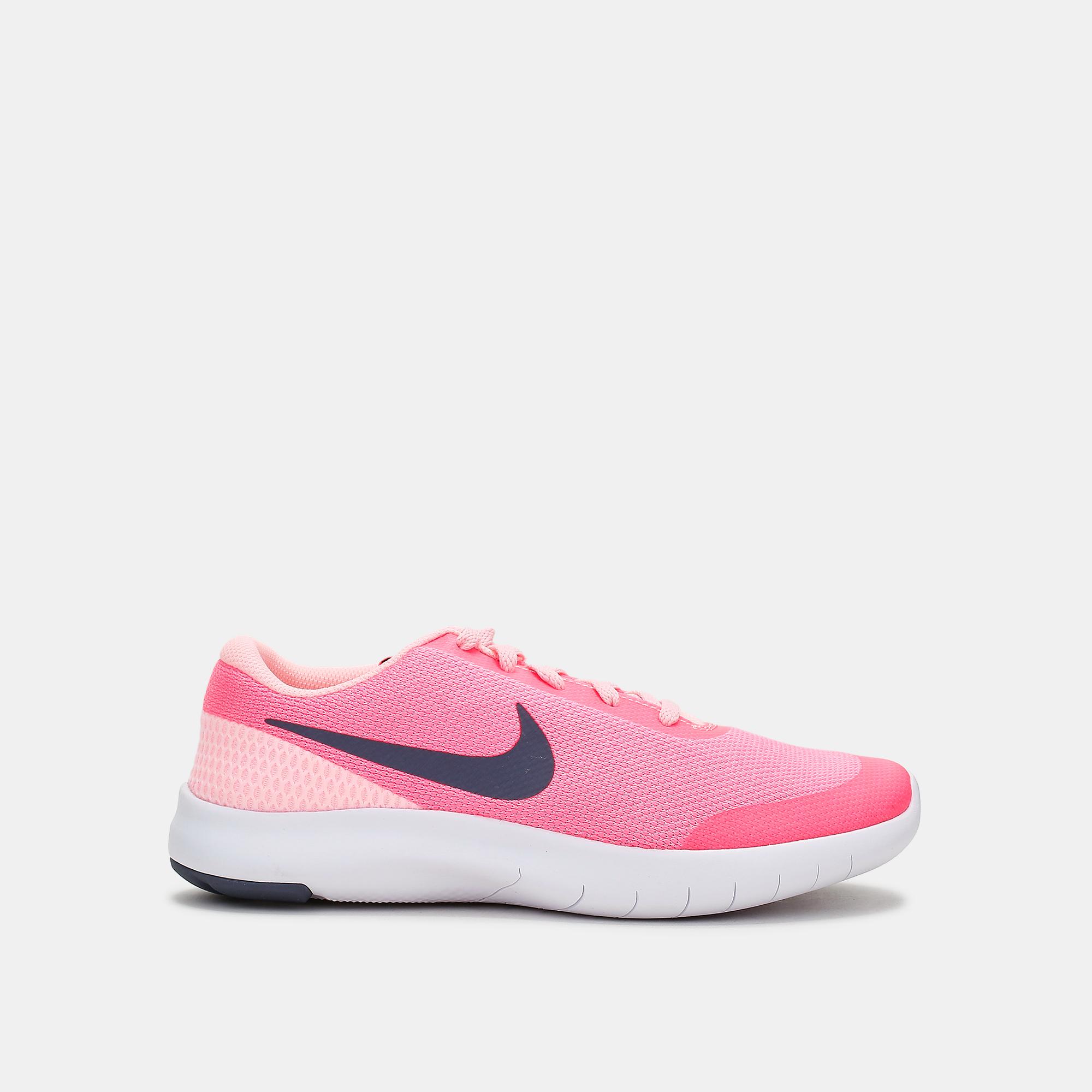 008d3c73072 Shop Pink Nike Kids  Flex Experience RN 7 Running Shoe (Grade School ...