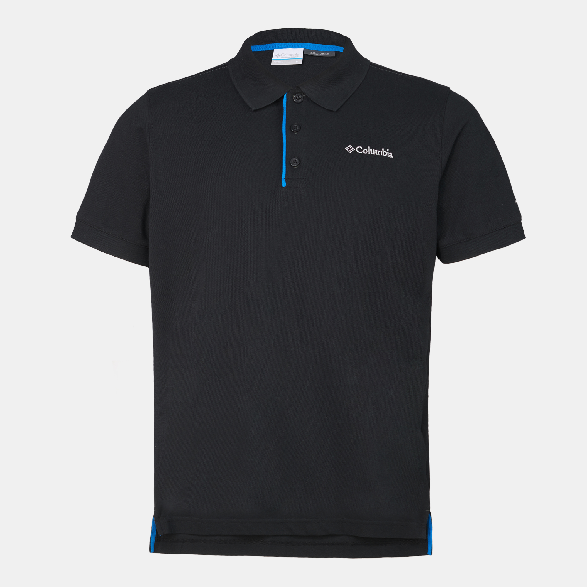 96da2fce896 Shop Black Columbia Cascade Range™ Solid Polo for Mens by Columbia | SSS
