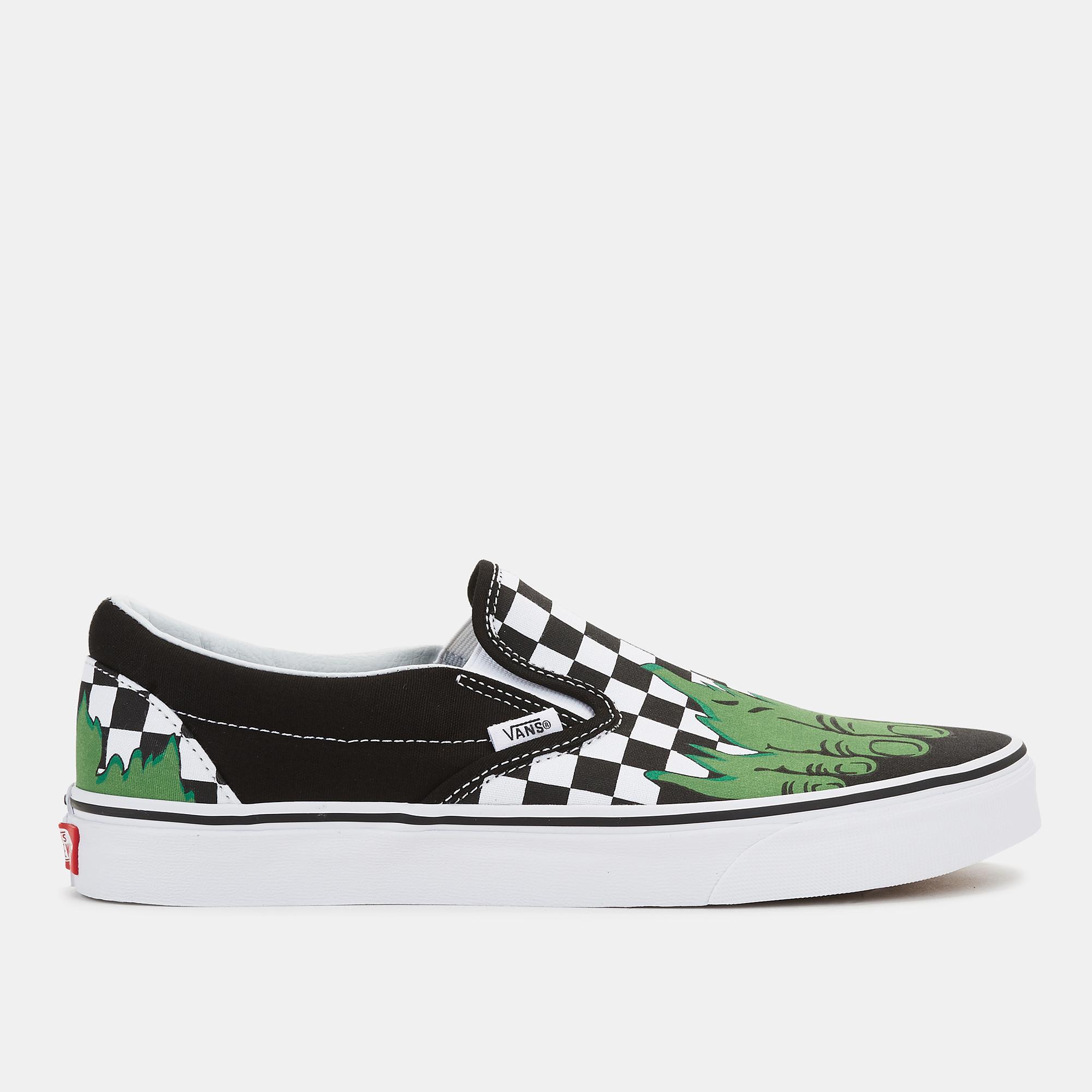 61325b9ff720de Vans x Marvel Classic Slip-On Shoe