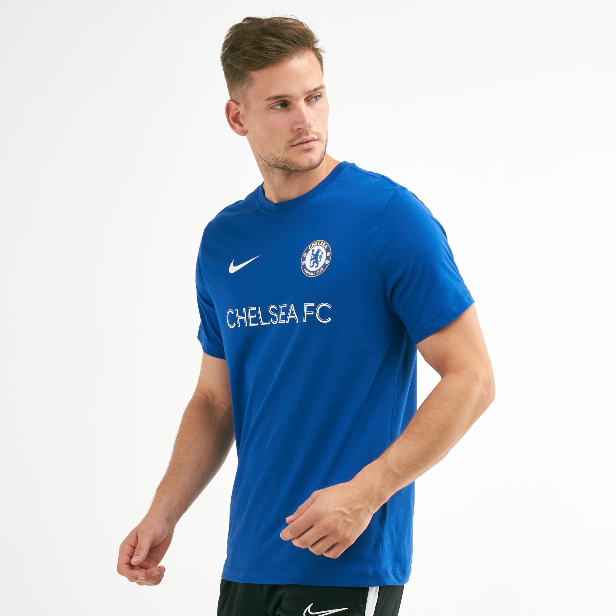 sale retailer 4eebf 4b75c Nike Men's Chelsea Football Club Core Match T-Shirt