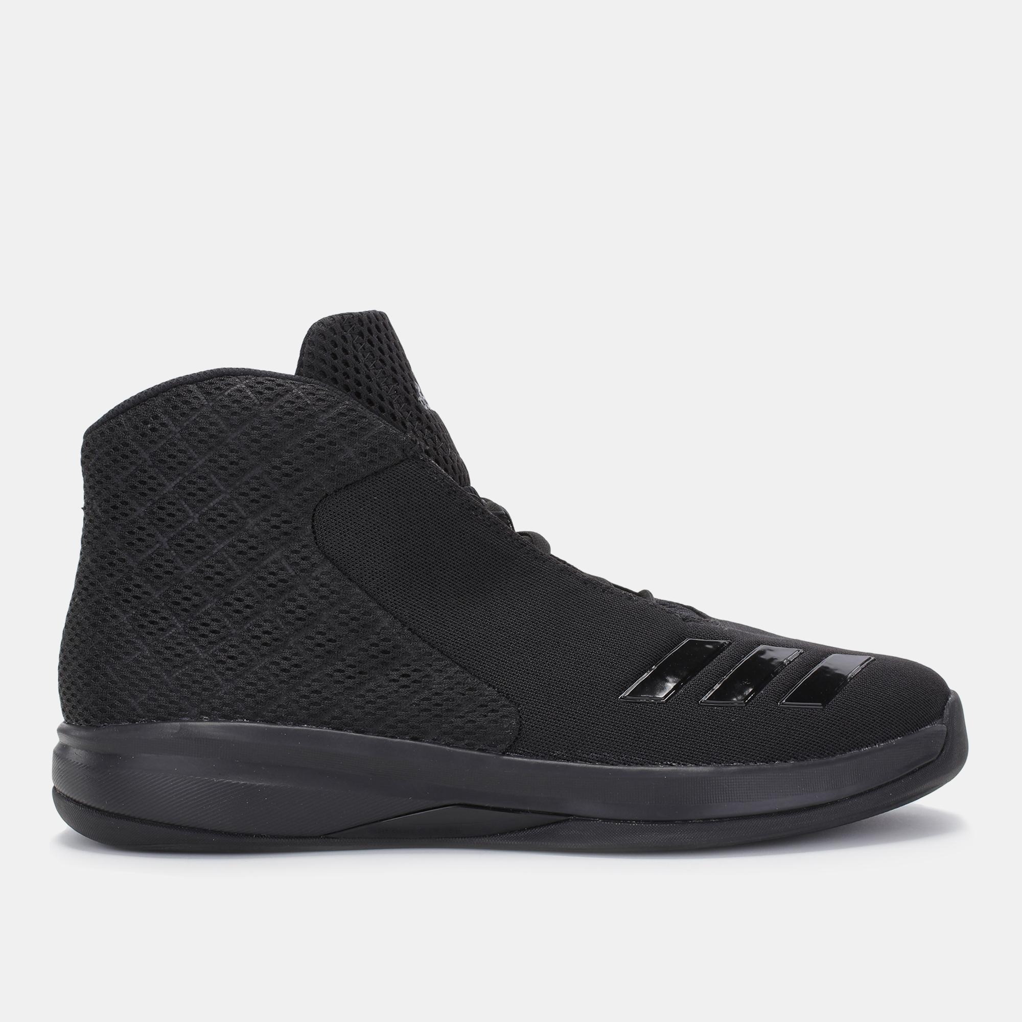 6e5cf79f57a2 Shop Black adidas Court Fury 2016 Shoe for Mens by adidas
