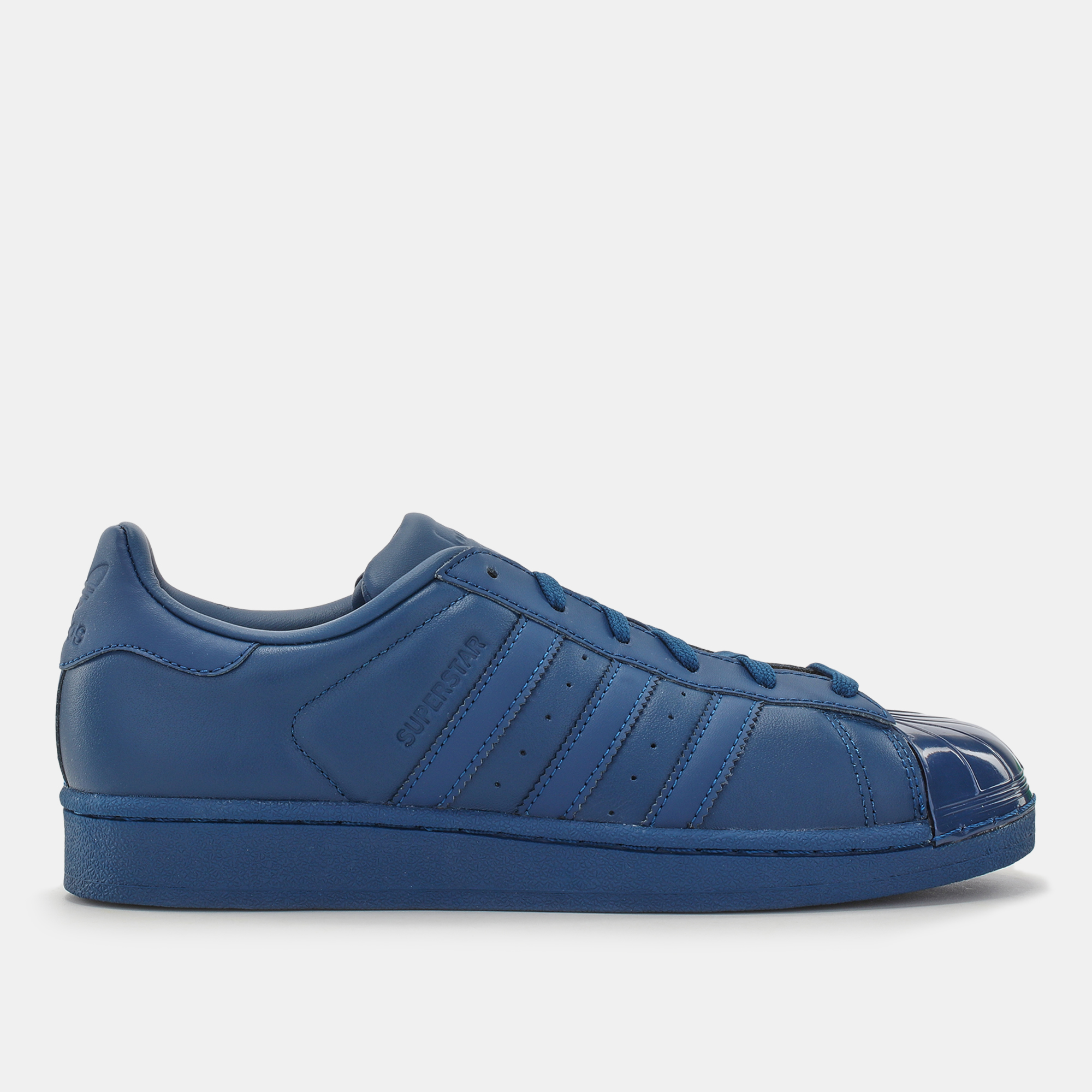 Womens Blue Adidas Glossy Superstar Shoe Toe For Shop By kPXuOZiT