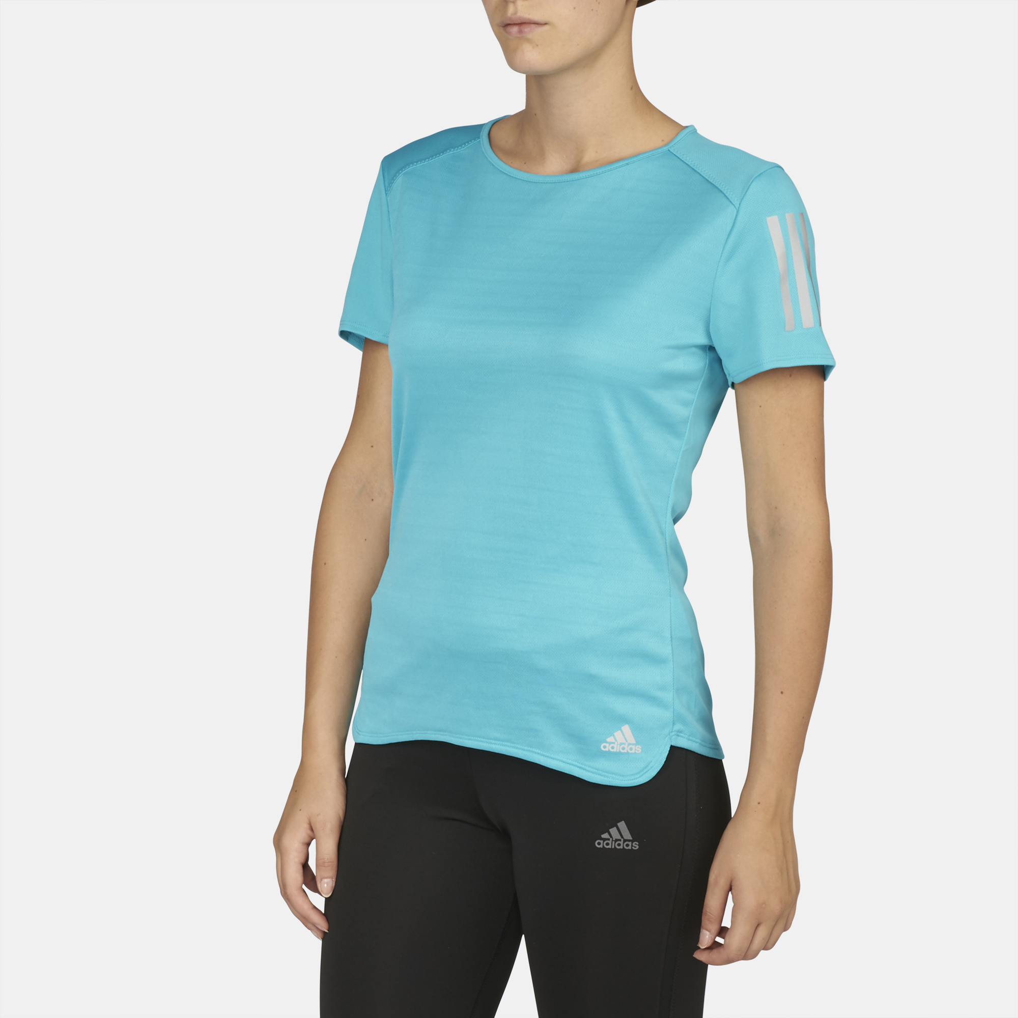Shop Adidas blue Response T Shirt BP7457 for Women in UAE