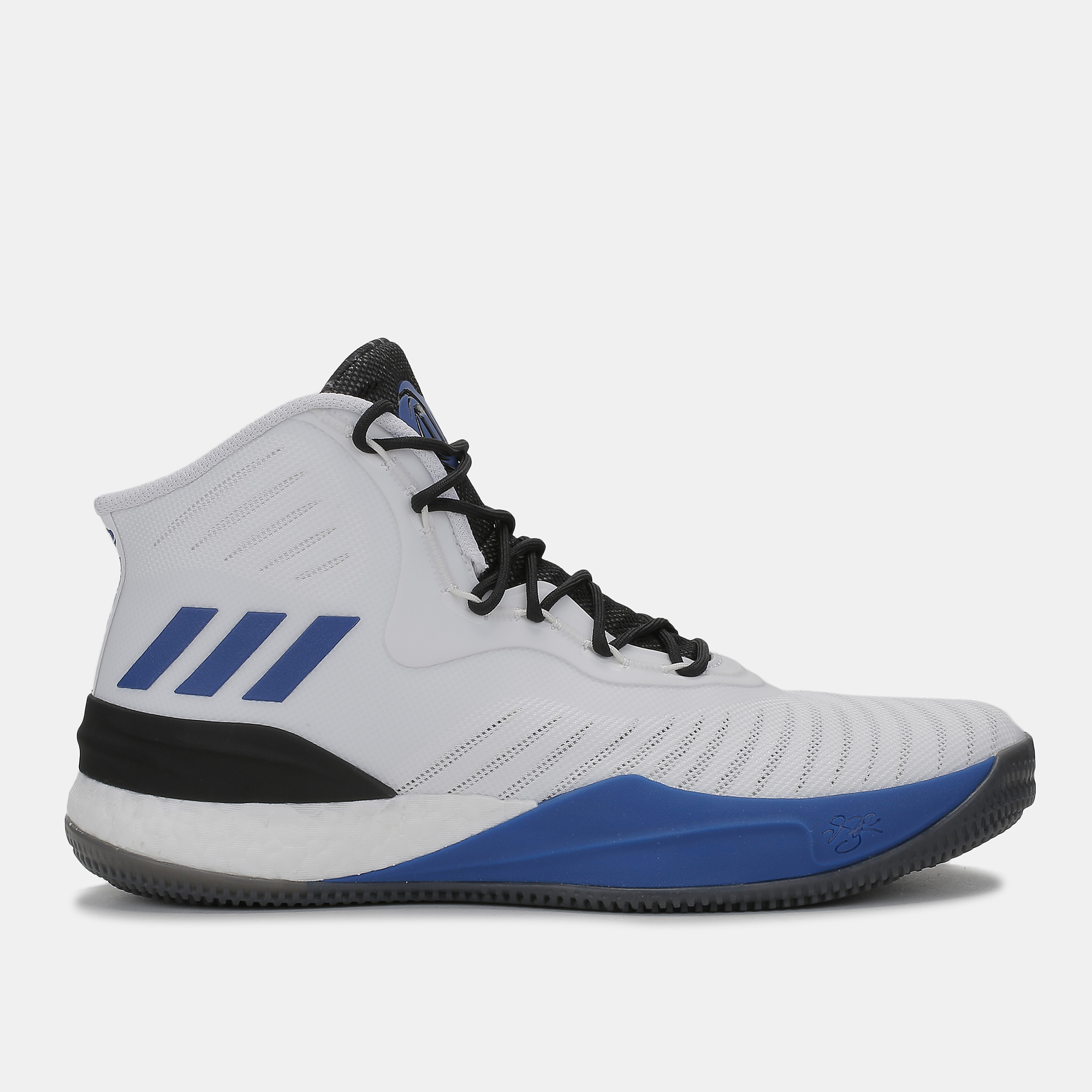 8d694c60249f Shop White adidas D Rose 8 Basketball Shoe for Mens by adidas