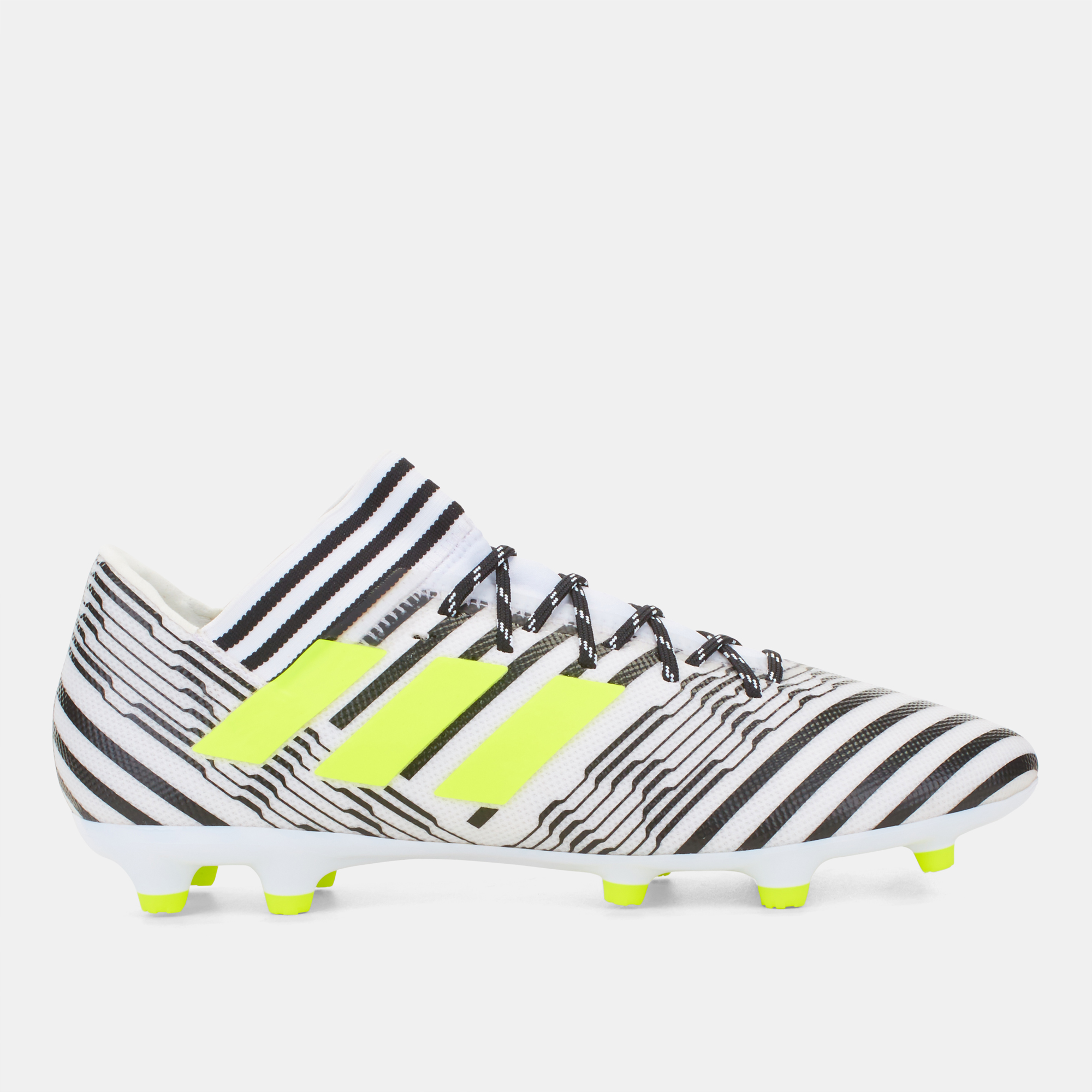 21a72e4ed63d Shop White Shop White Adidas Nemeziz 17.3 Firm Ground Football Shoe  exclusive for Mens by adidas