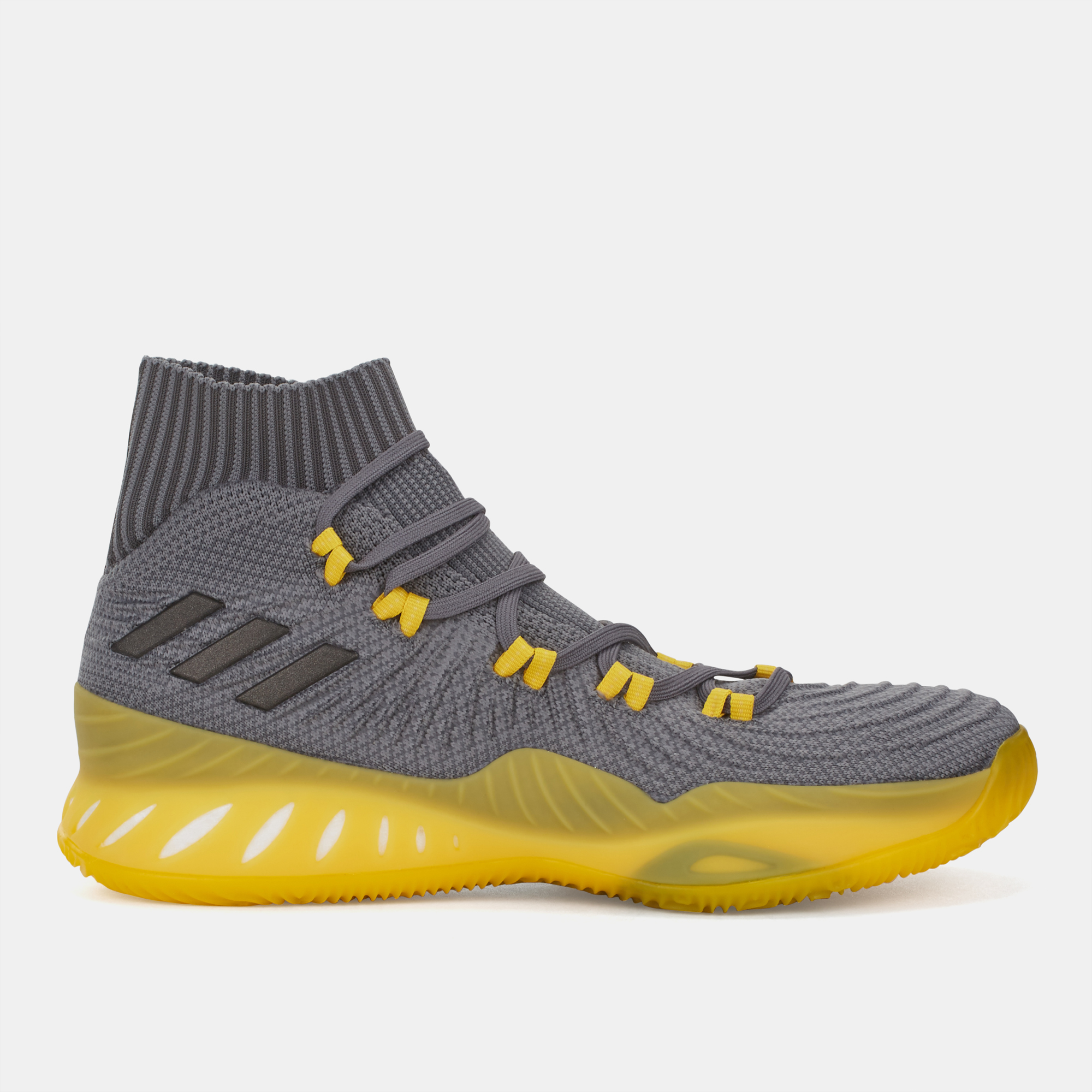 a072d4c59c278 Shop Grey adidas Crazy Explosive 2017 Primeknit Basketball Shoe for ...