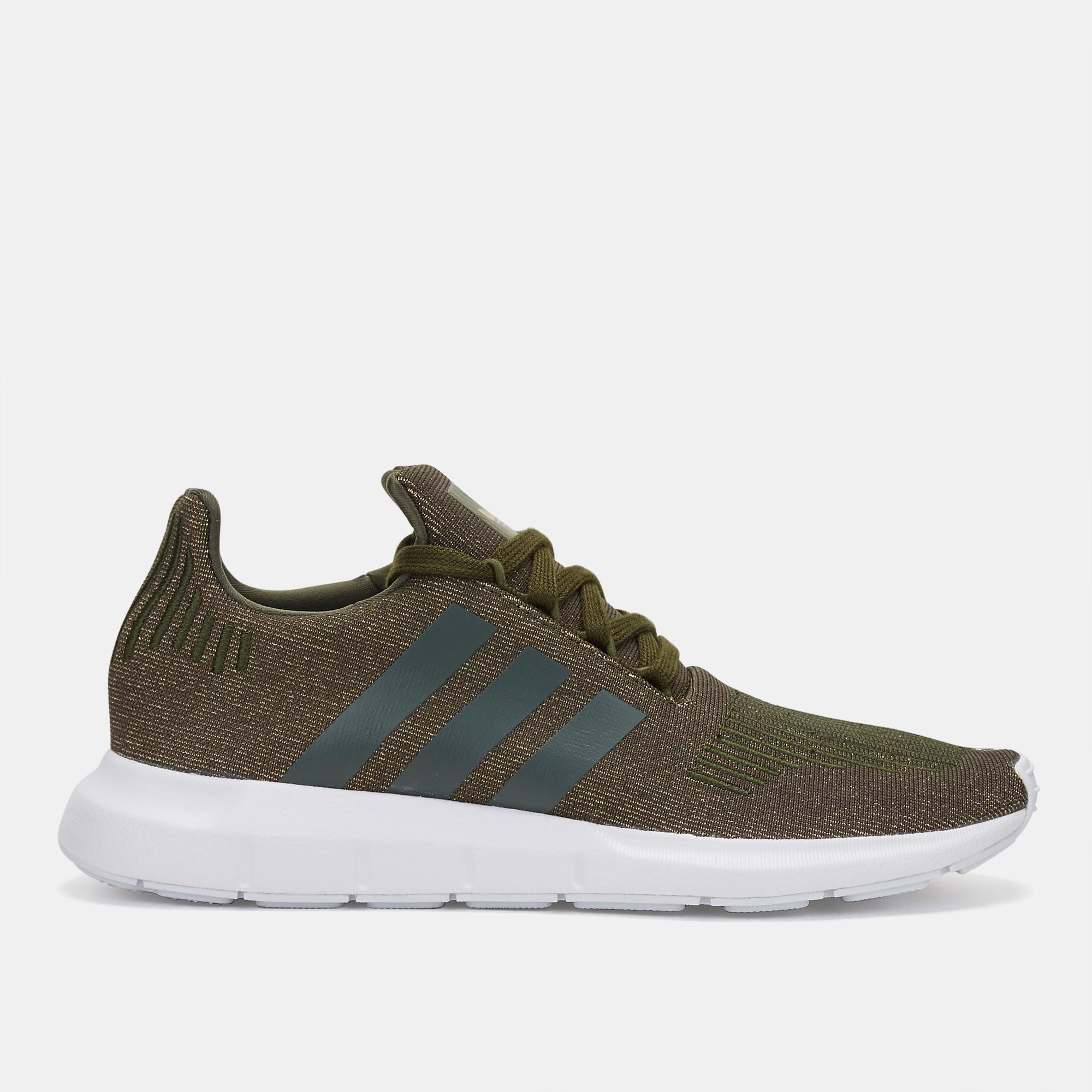 f9ad44824cced Shop Green adidas Originals Swift Run Shoe for Womens by adidas Originals