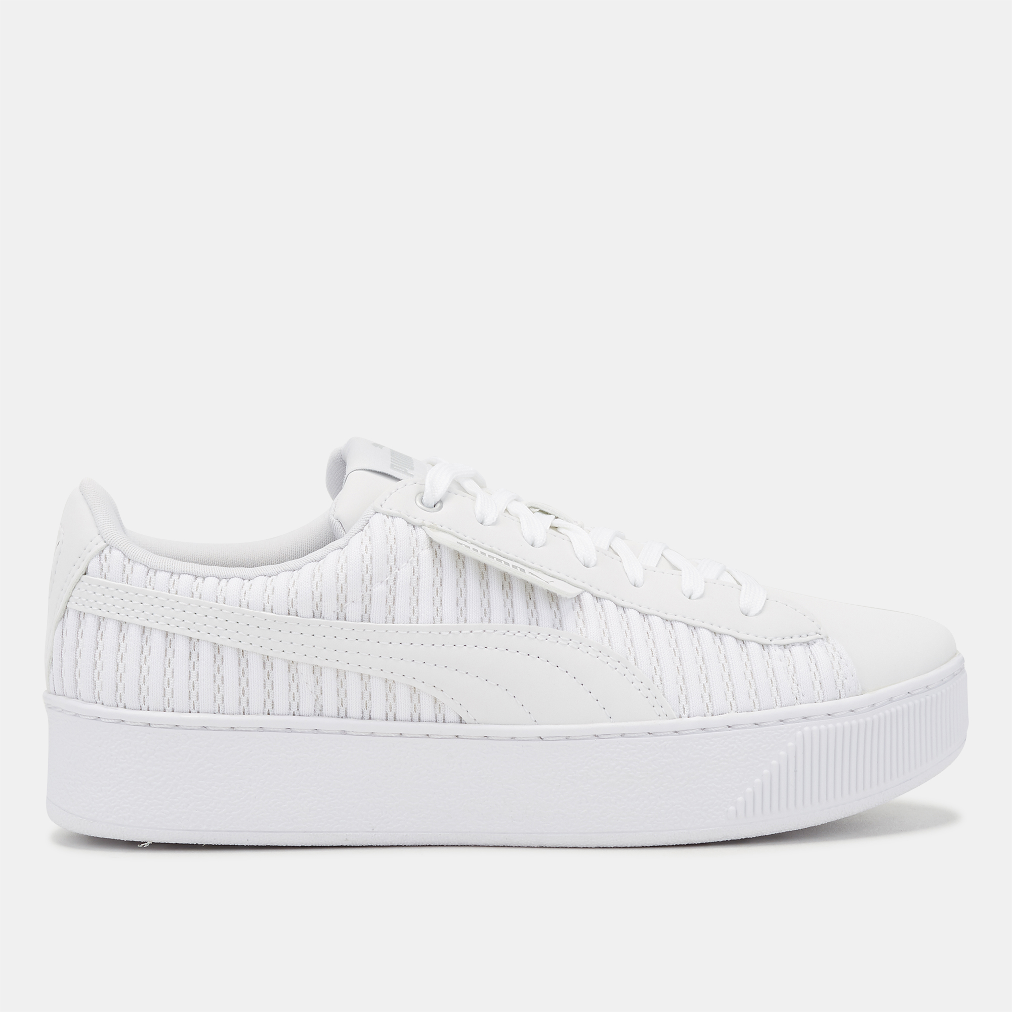 82d15ed7cfc Shop White PUMA Vikky Platform EP Q2 Shoe for Womens by PUMA
