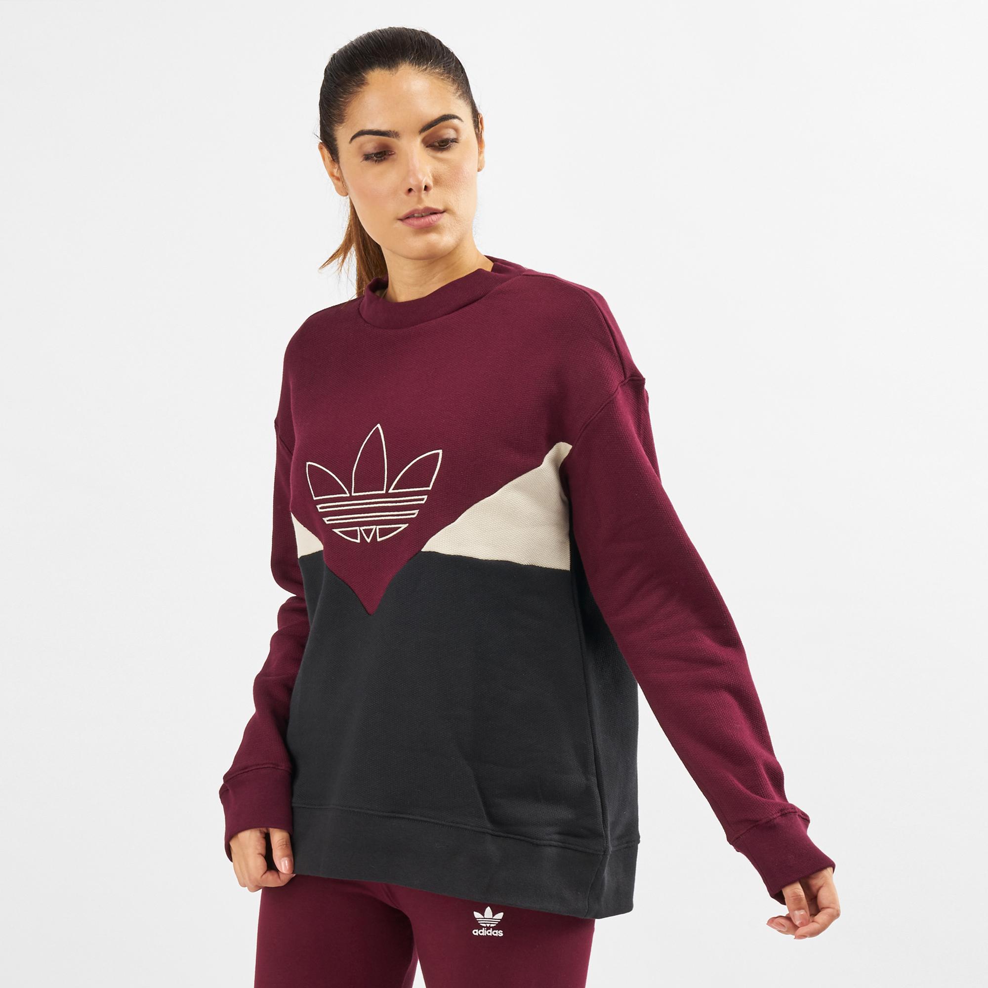 ADIDAS ORIGINALS Damen Kapuzensweatshirt »CLRDO HOODY
