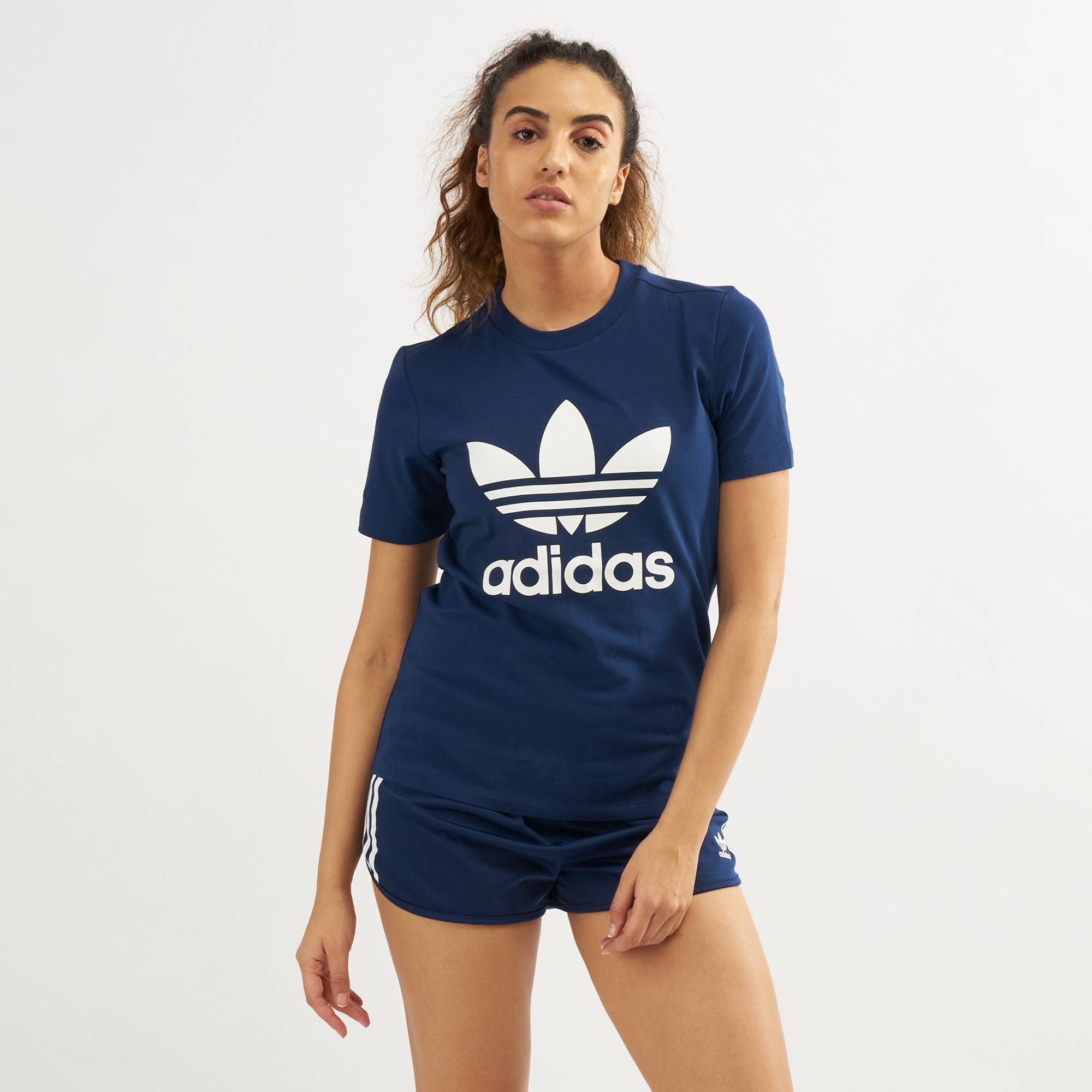 63503330a Adidas Originals Trefoil S S Logo T Shirt Womens – EDGE Engineering ...
