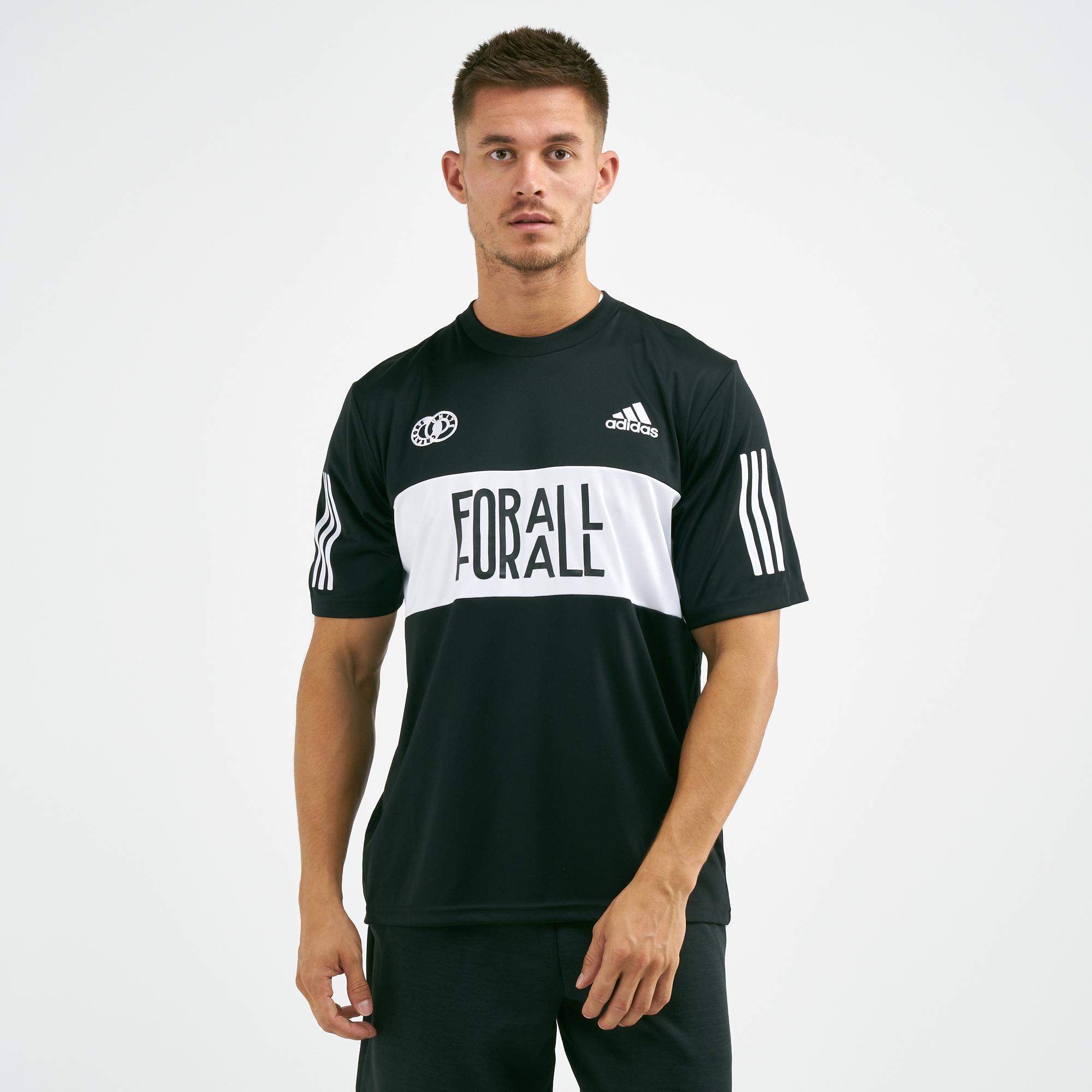 d416087de1a adidas One Team Jersey T-Shirt | T-Shirts | Tops | Clothing | Mens | SSS