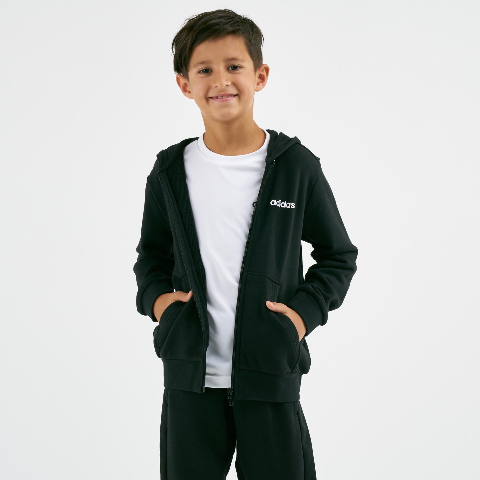 b66932925c93 adidas Originals Kids' Essentials 3-Stripes Woven Shorts (Older Kids ...
