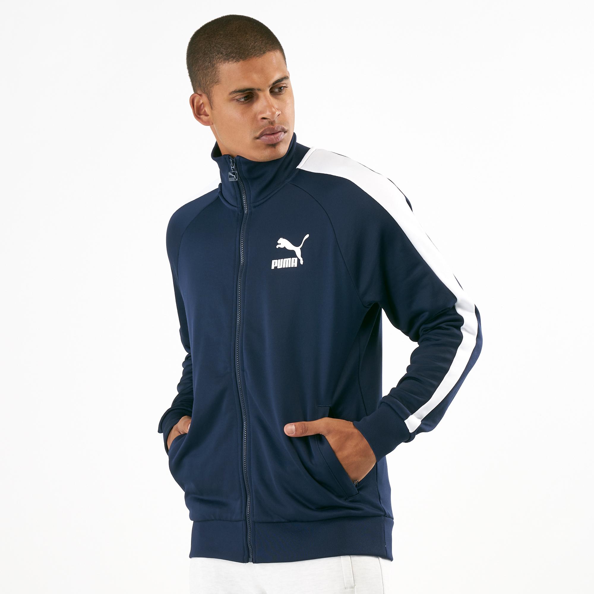 PUMA Mens Iconic T7 Track Jacket PT Track /& Active Jackets