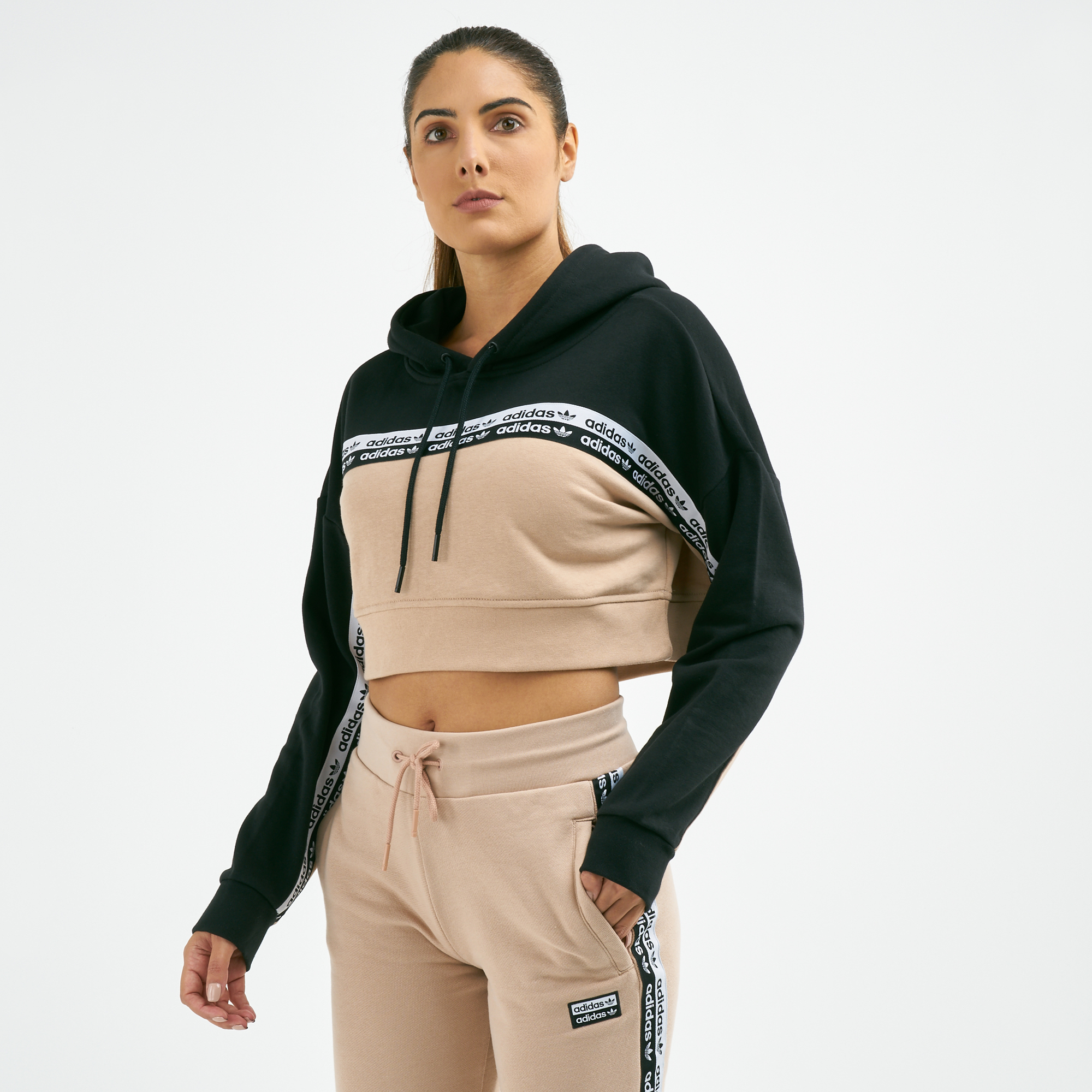 fec51357184 adidas Originals Women's Cropped Hoodie | Hoodies | Hoodies and ...