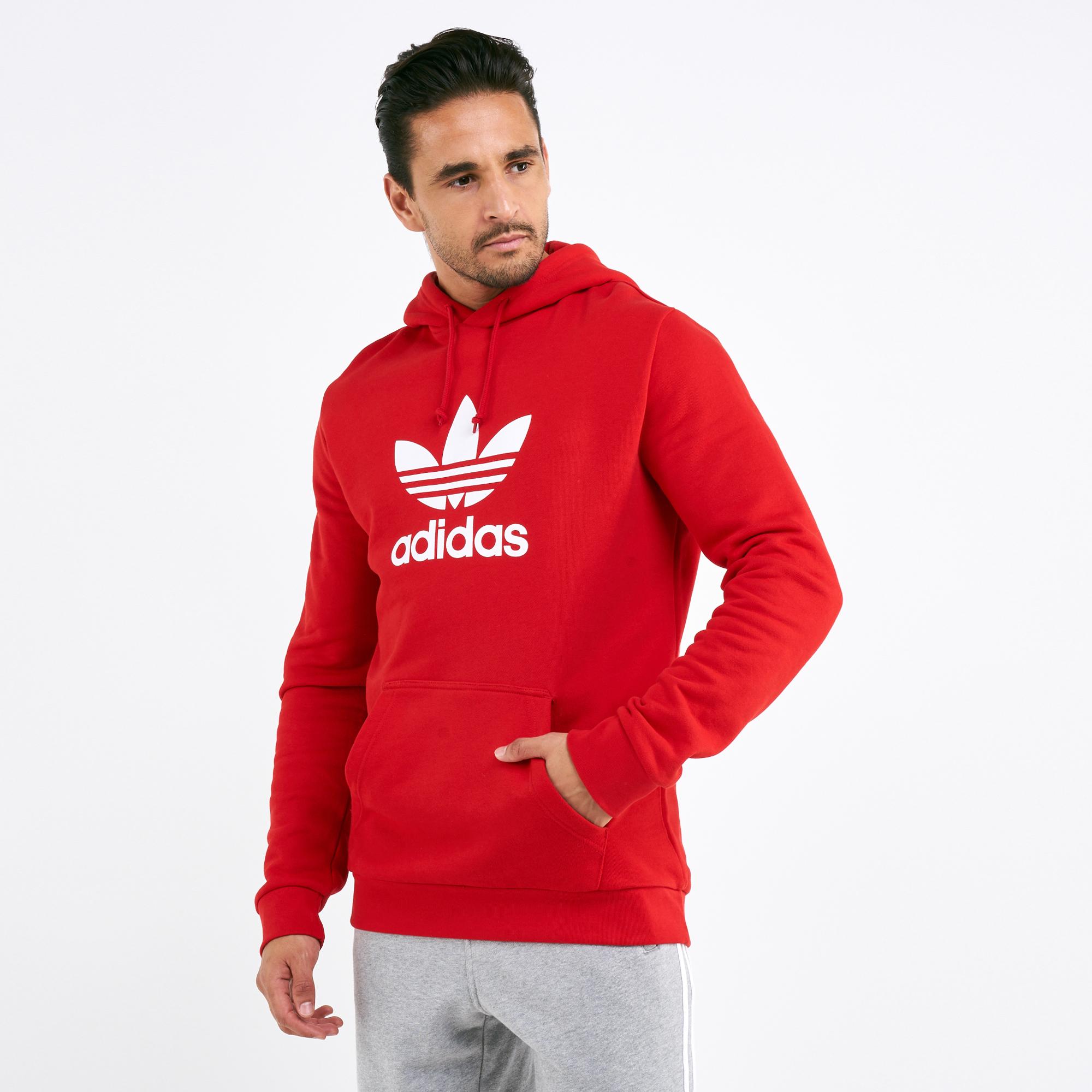 3c1705b3b459 adidas Originals Men's Trefoil Hoodie   Hoodies   Hoodies and ...