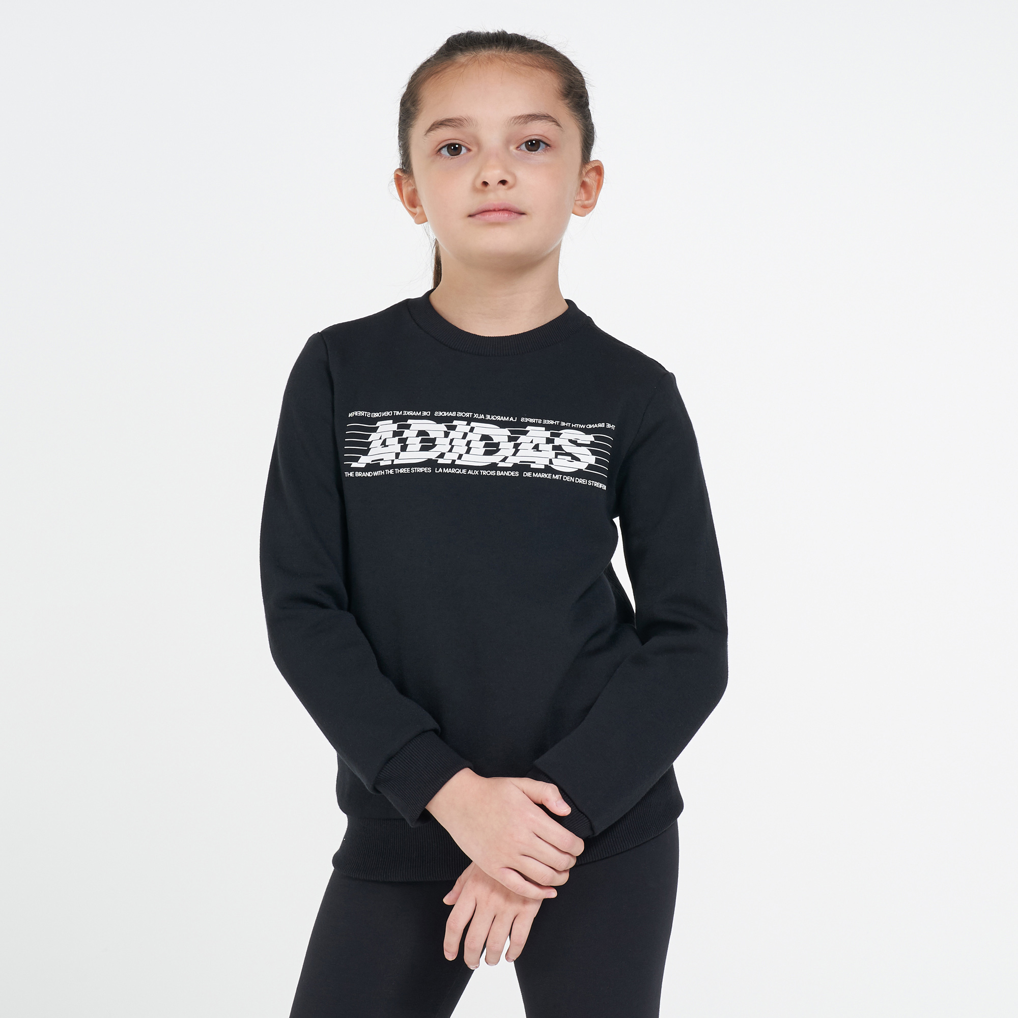 adidas Kids' Sport ID Crew Sweatshirt (Older Kids)