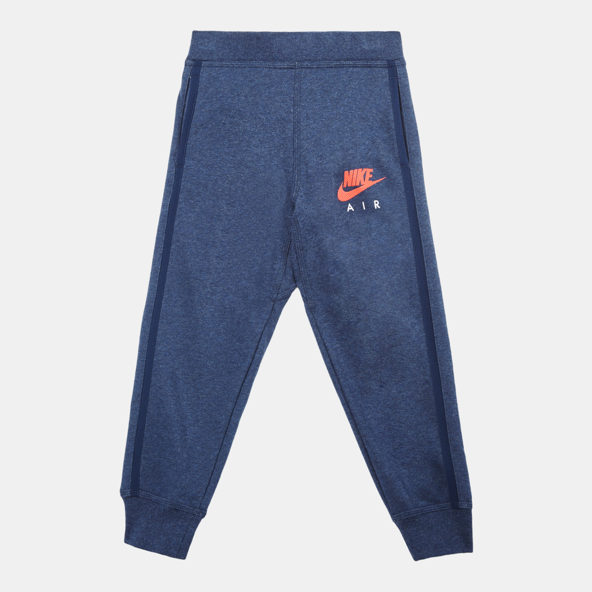 Shop Blue Nike Kids' YA Brushed Fleece HBR Rib Cuff Pant for