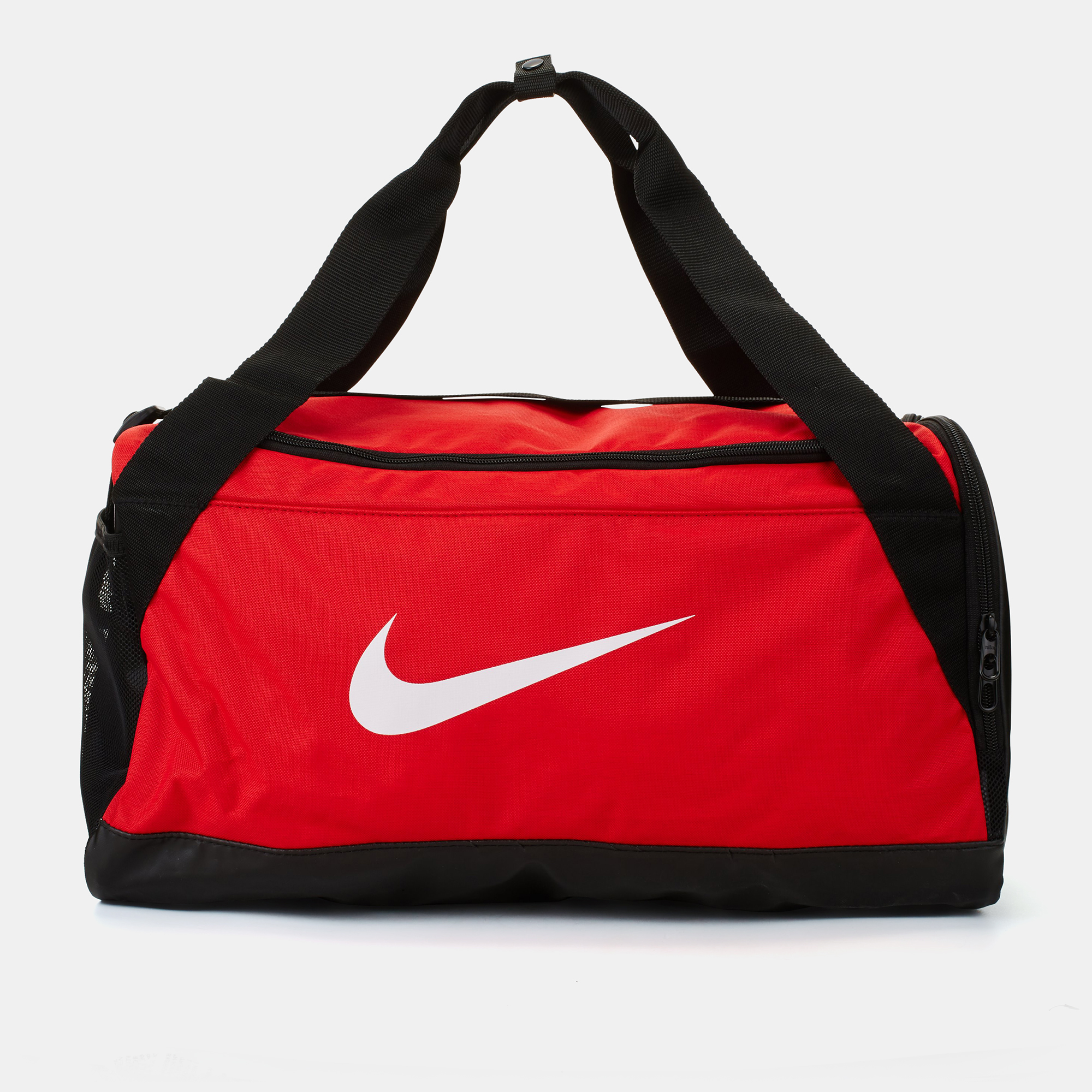 Shop Red Nike Brasilia Small Duffle Bag for Mens by Nike  d4683fd1f39f9