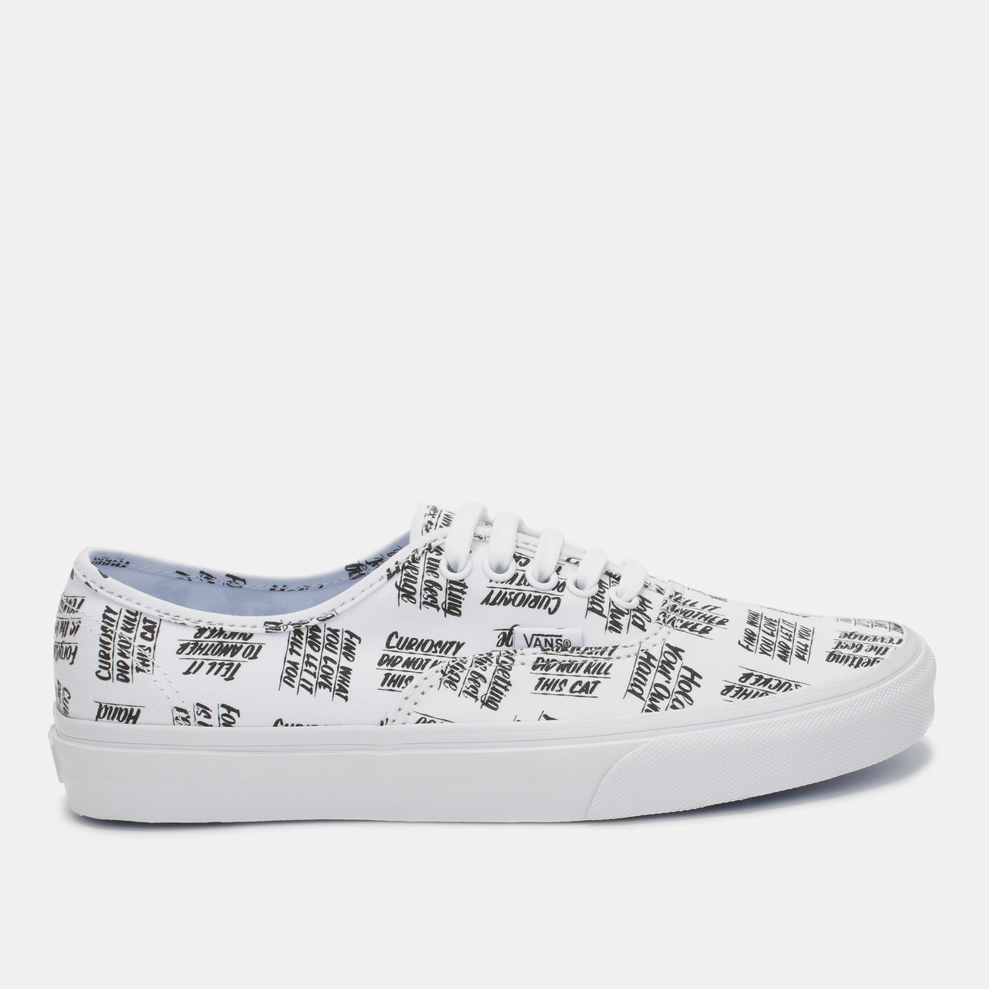 41c1cfa27c Shop White Vans Baron Von Fancy x Authentic Shoe for Womens by Vans ...