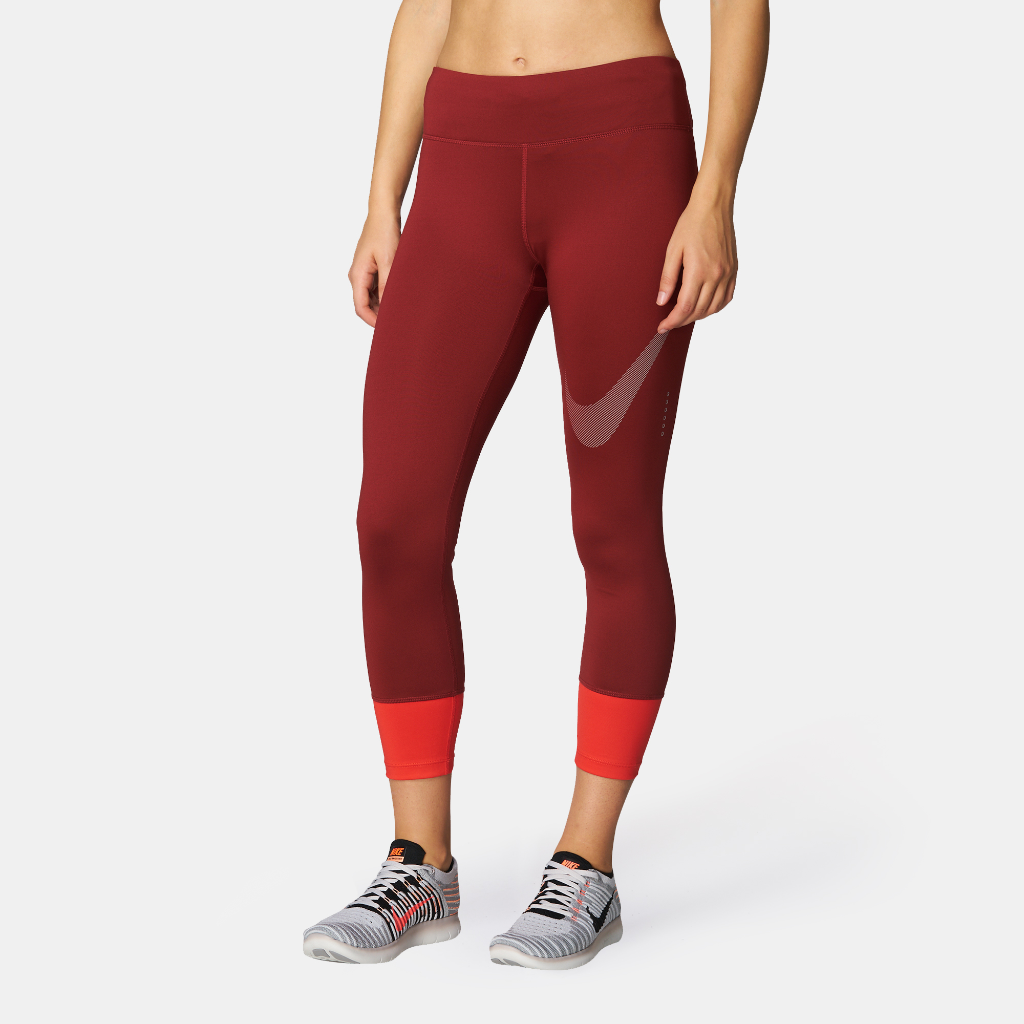 Nike Power Essential Twist Capri Leggings