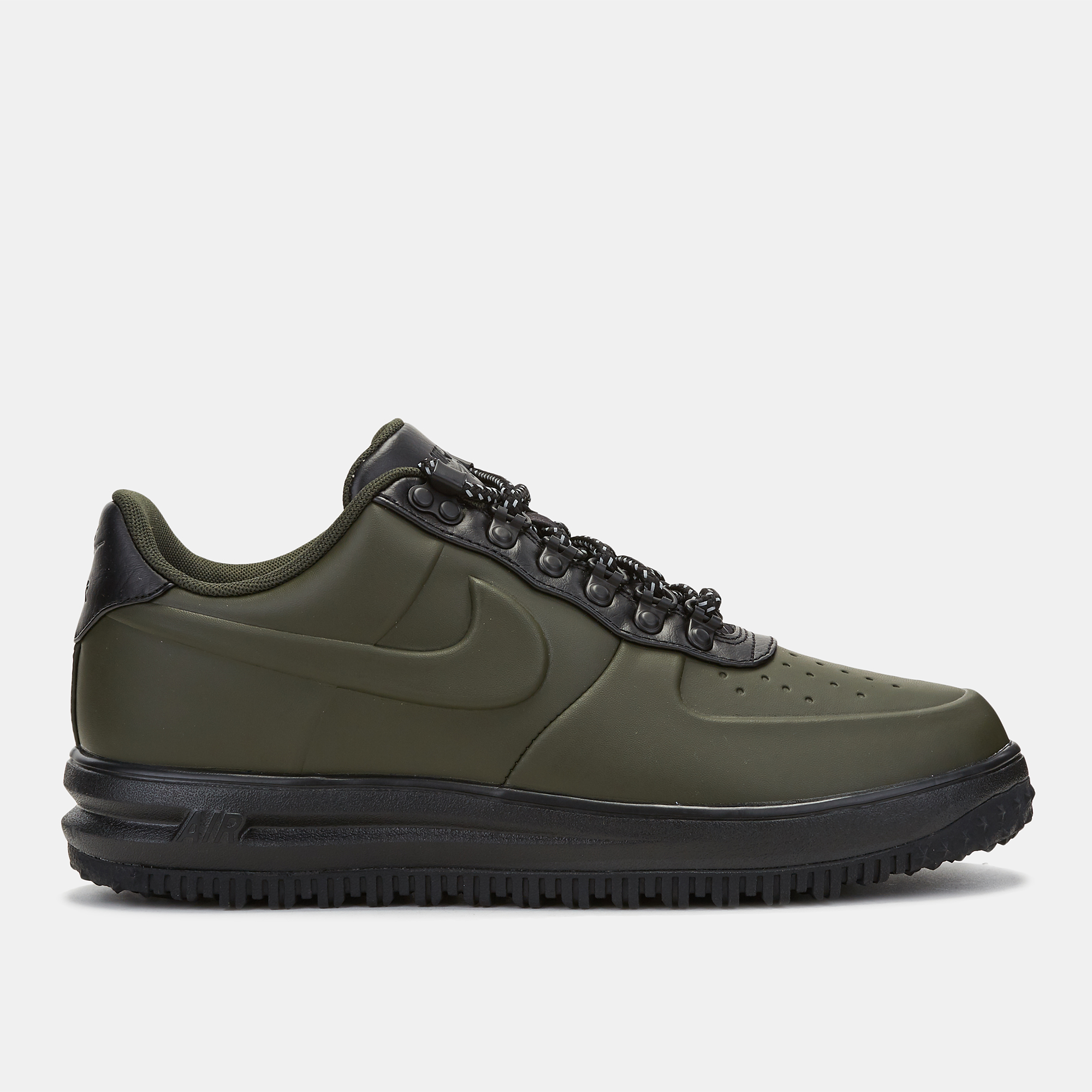 detailed look 07ed9 ee904 Shop Green Nike Lunar Force 1 Duckboot Low Shoe for Mens by Nike   SSS