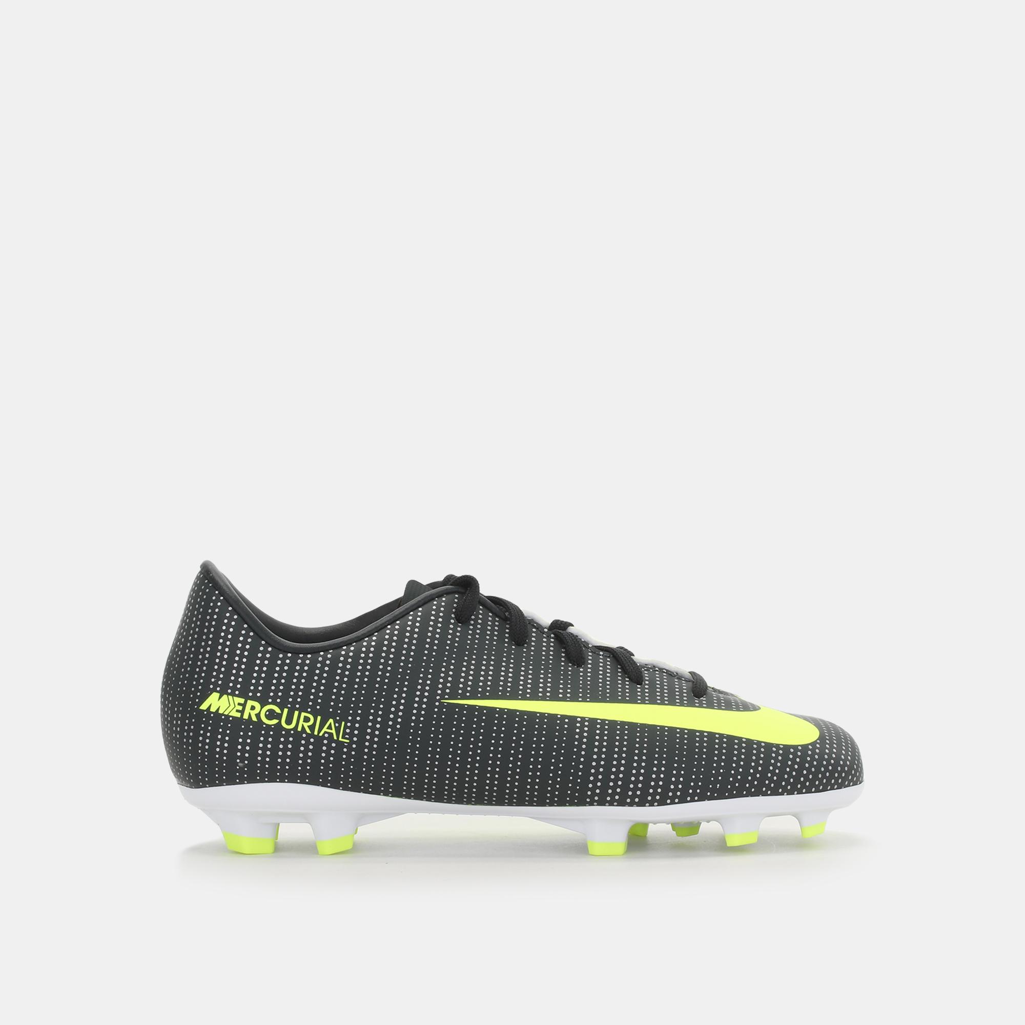4feeac7fb6ac Nike Kids  Mercurial Vapor XI CR7 Firm Ground Football Shoe ...