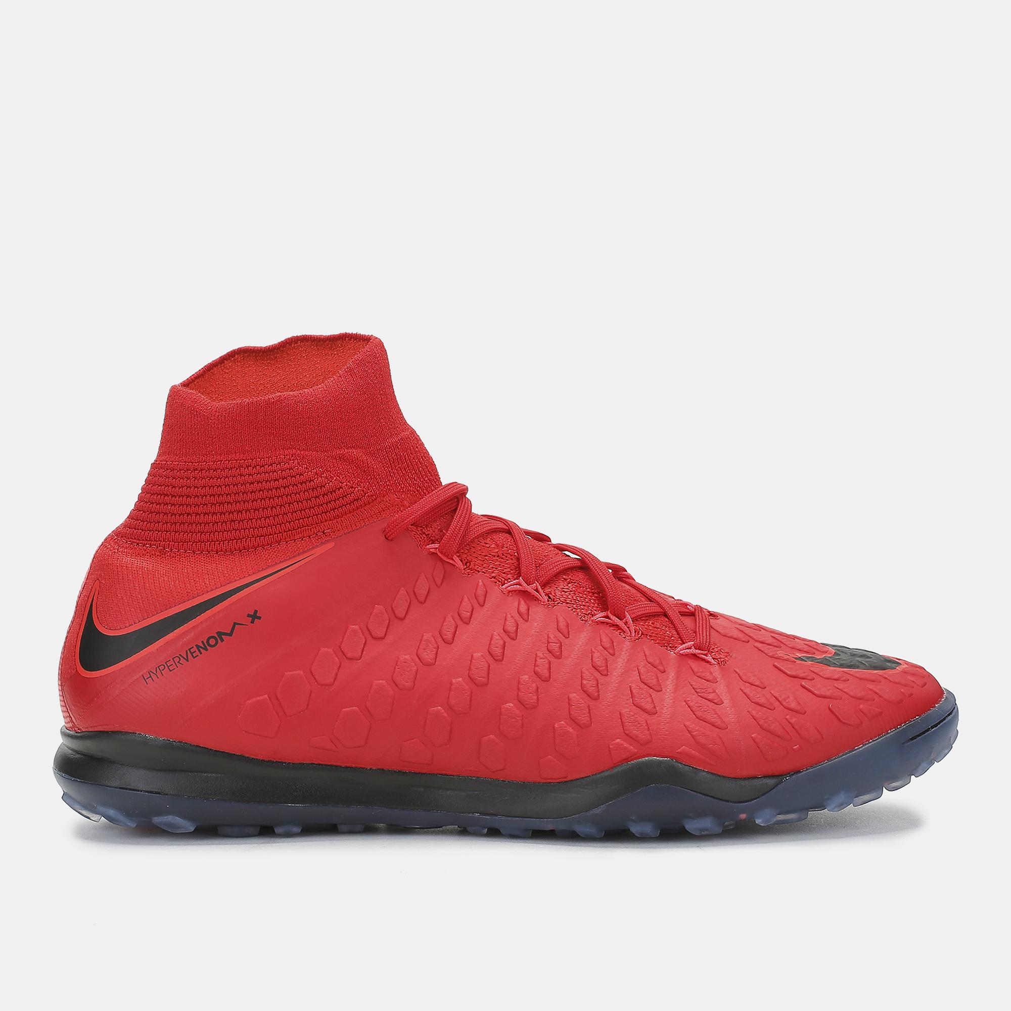 cb17395895e5 Shop Red Nike HypervenomX Proximo II Dynamic Fit Turf Football Shoe ...