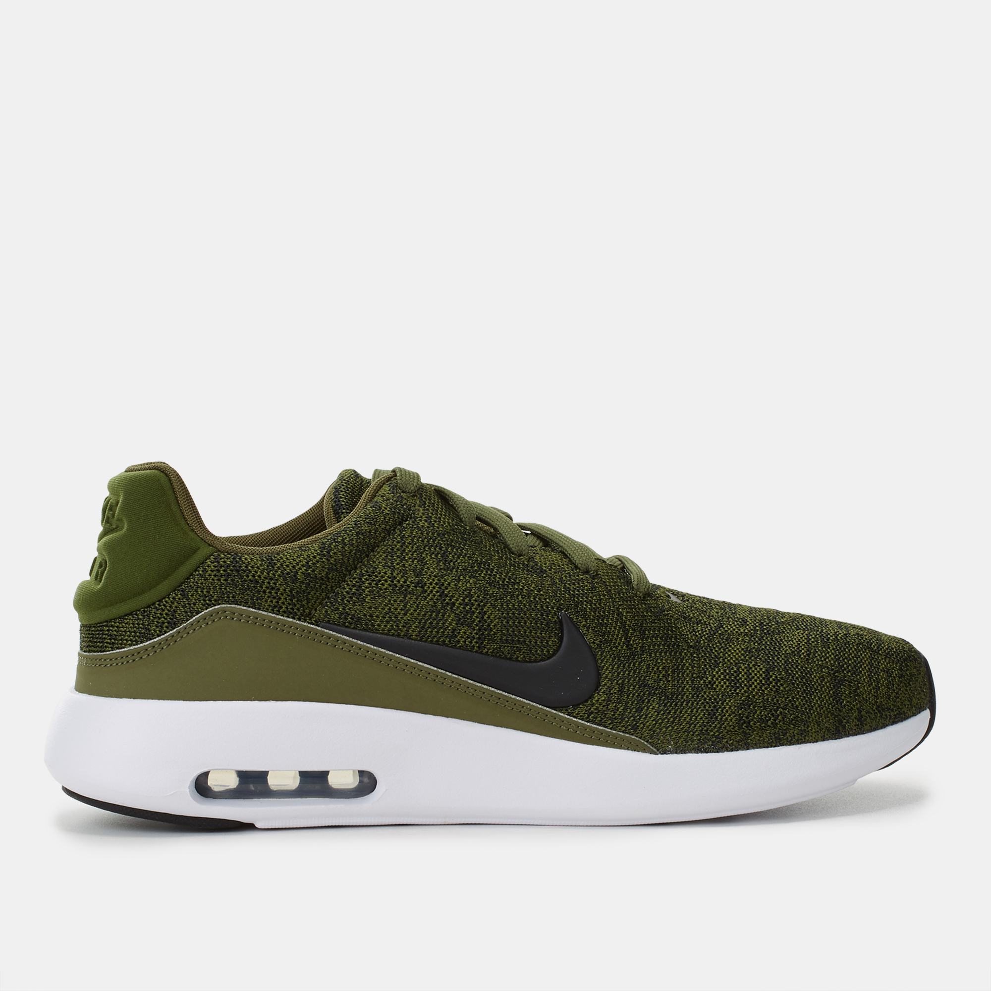 378f9eead412 Shop Green Nike Air Max Modern Flyknit Shoe for Mens by Nike
