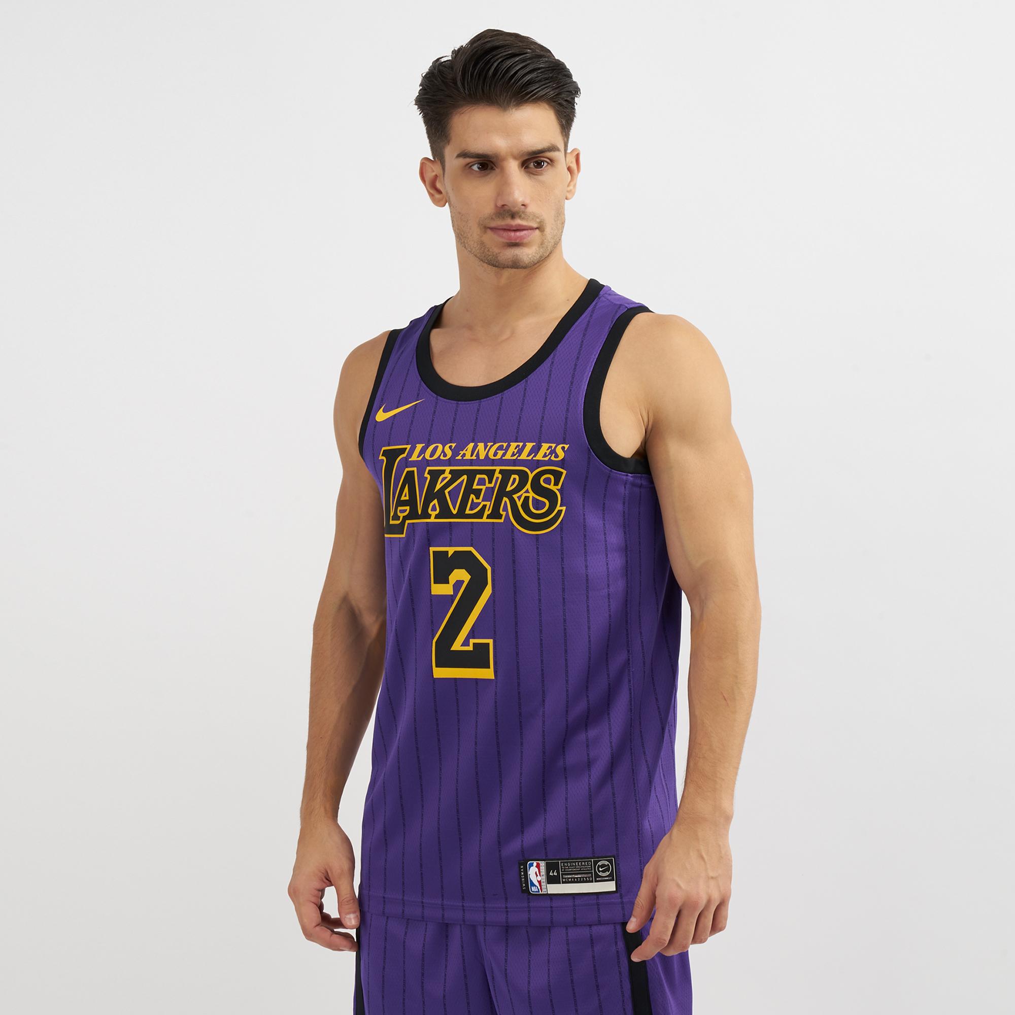 Nike NBA Los Angeles Lakers Swingman City Edition Jersey 2018   Jerseys ...