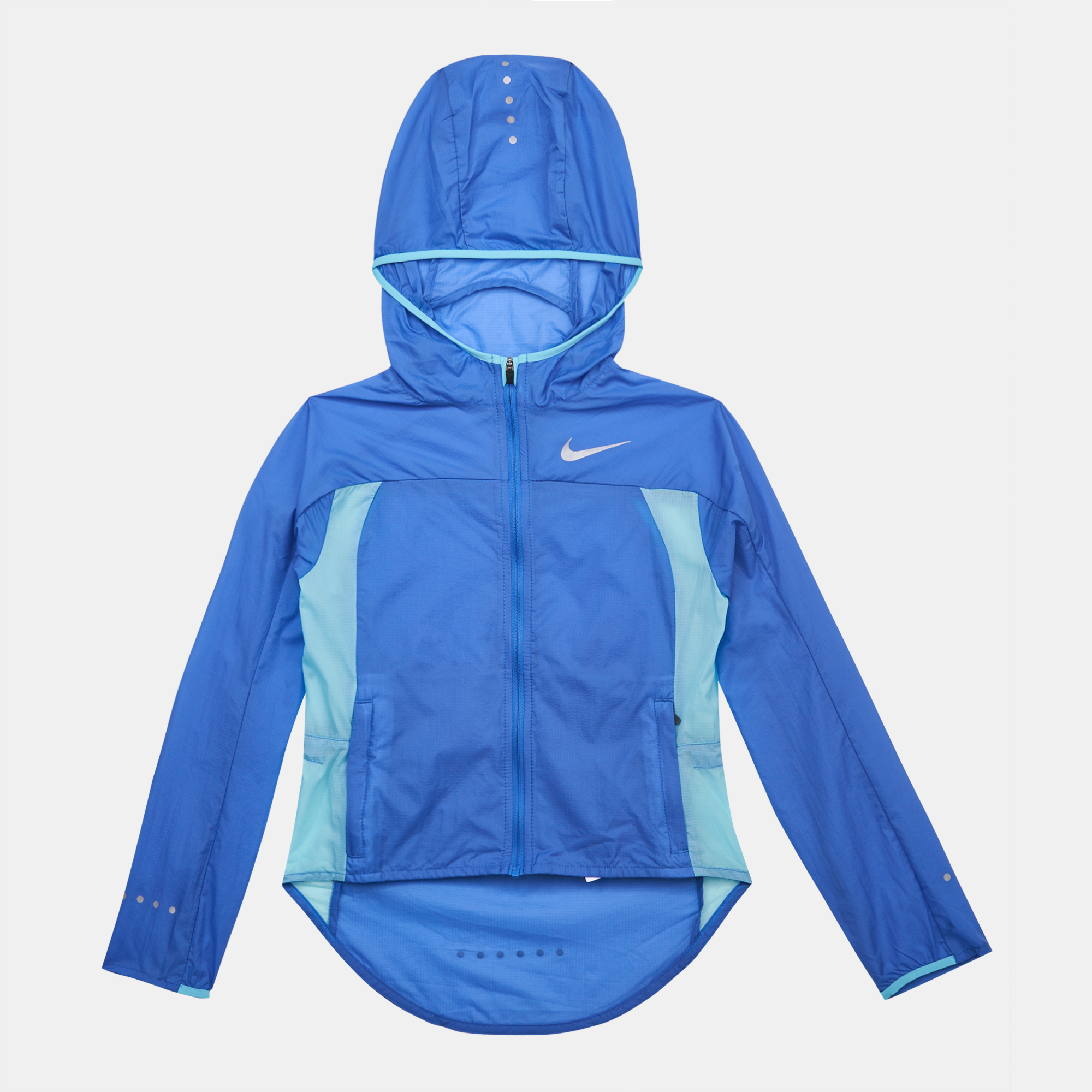 Shop Blue Nike Kids Hd Impossibly Light Jacket For Kids