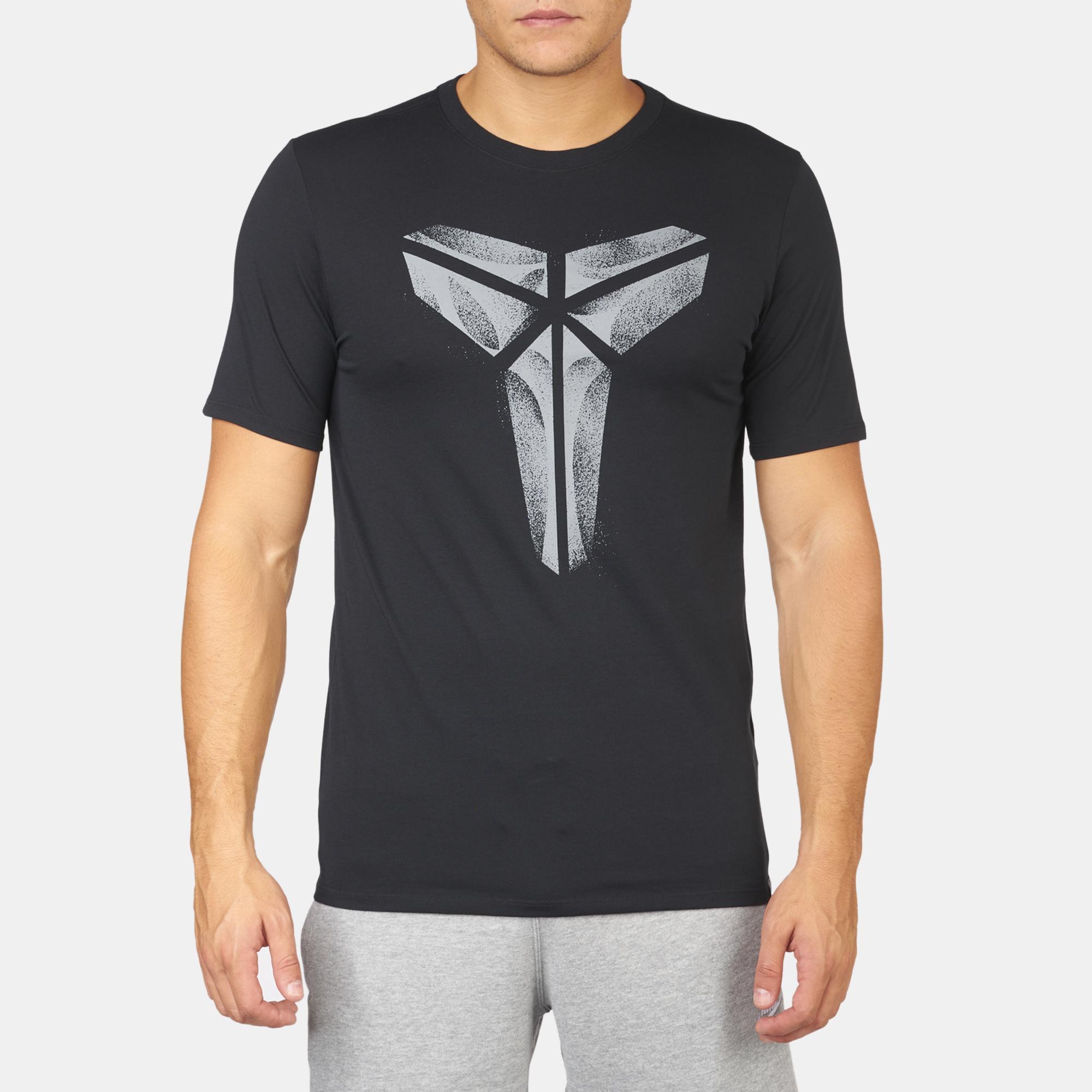 Kobe Bryant Backpacks >> Shop Black Nike Kobe XXIV Basketball T-Shirt for Mens by Nike | SSS