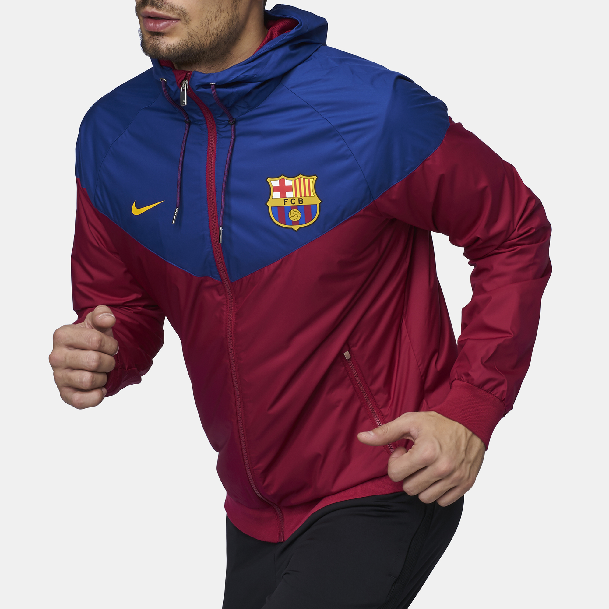 2ae9088ea Shop 41 Nike FC Barcelona Authentic Windrunner Jacket - 2017 18 for ...