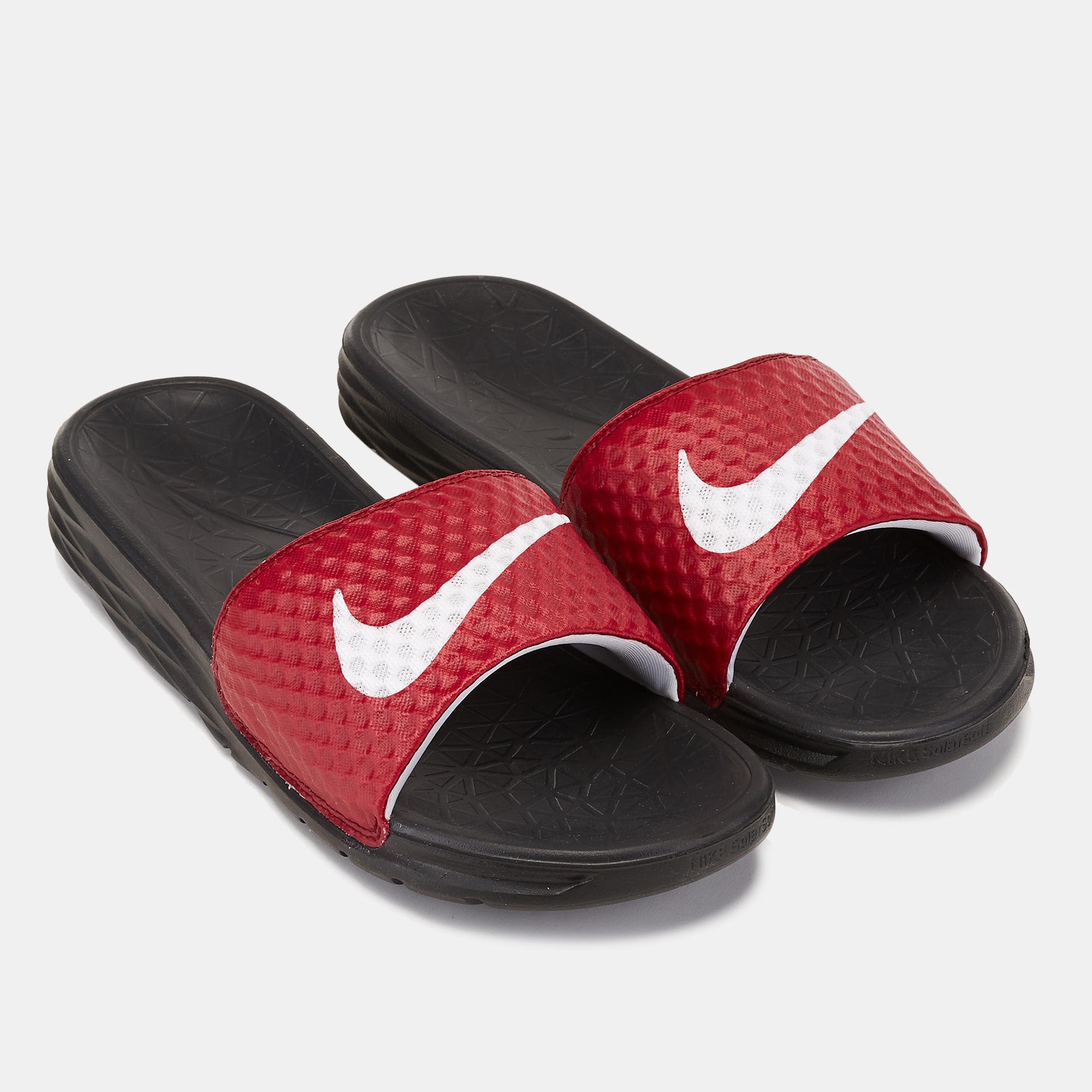 low priced f1a30 f0838 Nike Benassi Solarsoft 2 Slides   Slides   Sandals and Flip-Flops   Shoes    Mens   SSS