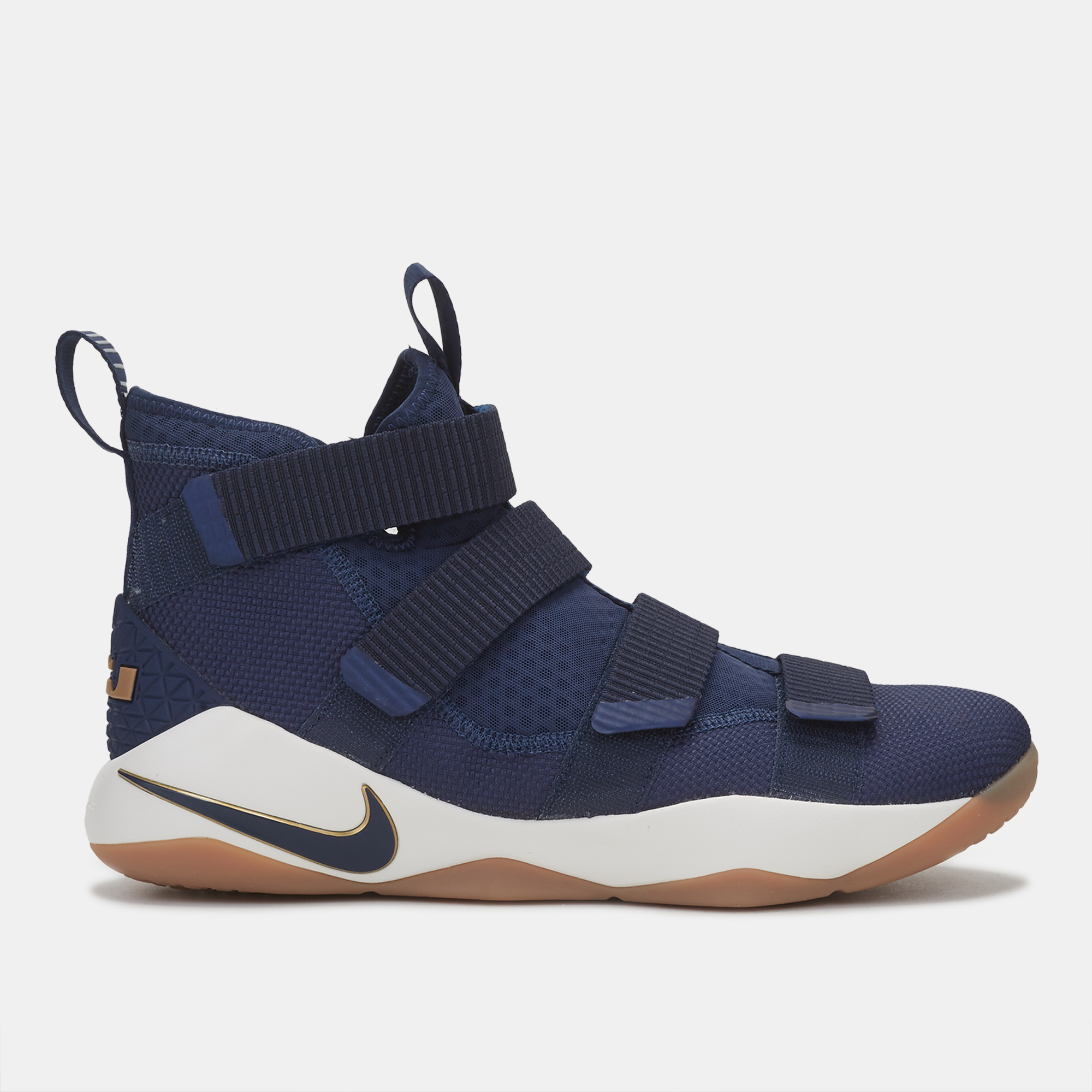 3958fd067a95c Shop Blue Nike LeBron Soldier 11  Cavs  Shoe for Mens by Nike