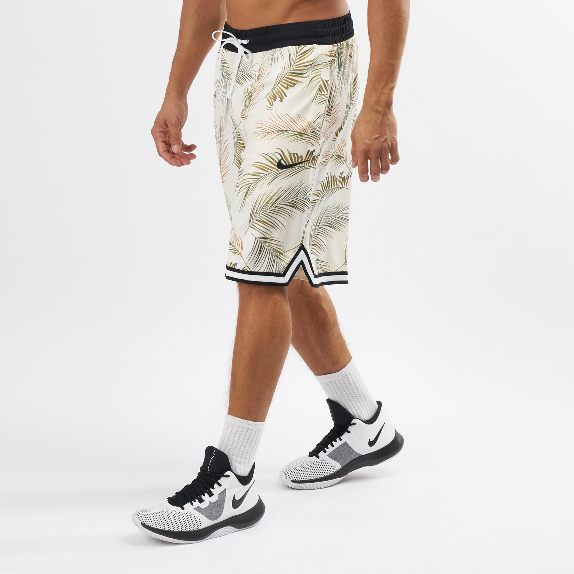 Nike Men's DNA Floral Basketball Shorts
