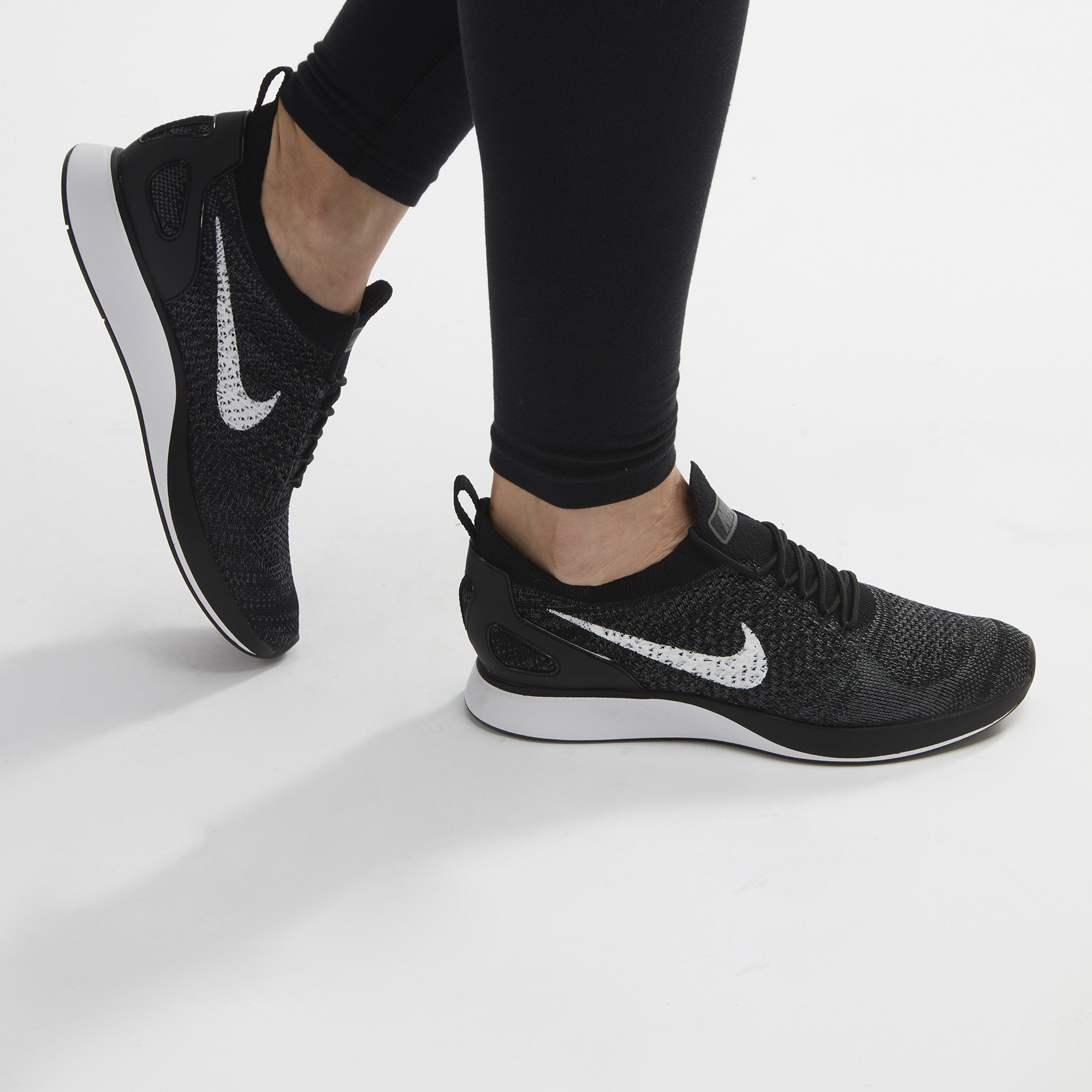 cheap for discount 8c56c 00c4d Shop Black Nike Air Zoom Mariah Flyknit Racer Running Shoe for Womens by  Nike   SSS