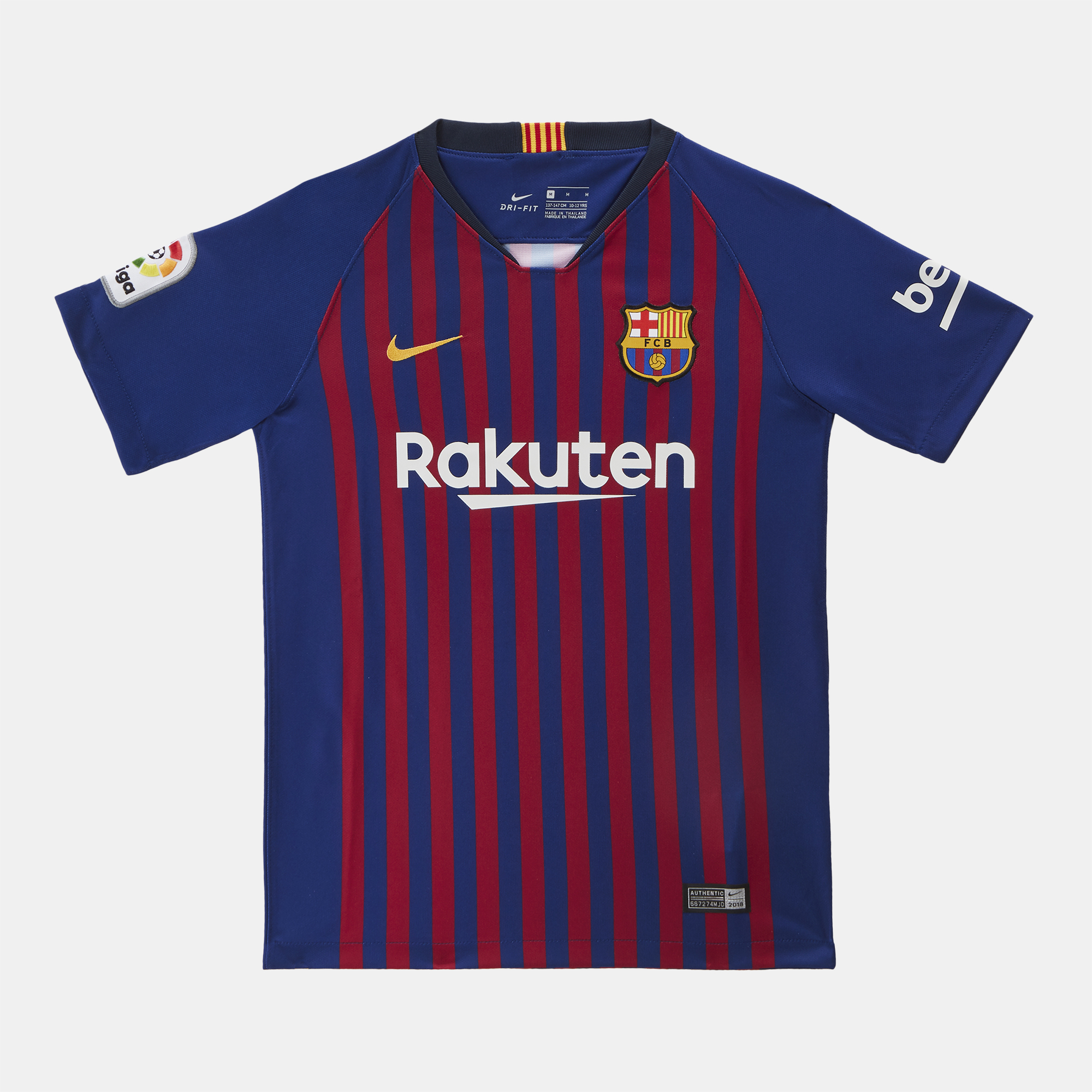 d3931077c قميص برشلونة الأساسي ستاديوم 2018/2019 من نايك للاطفال | قمصان الاندية  للاطفال | قمصان وتيشرتات للاطفال | تخفيضات الملابس للاطفال | تخفيضات  للاطفال ...