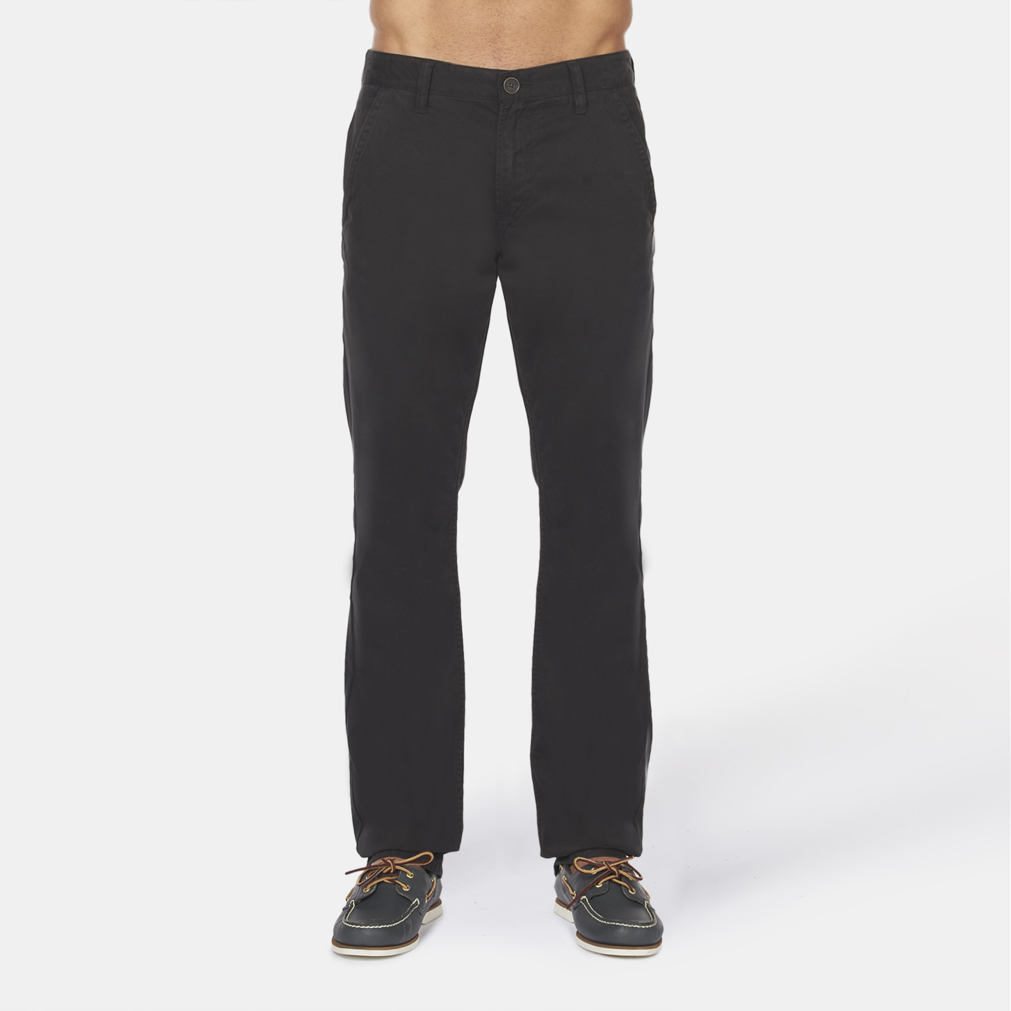 Shop Black Timberland® Squam Lake Twill Chino Pant for Mens