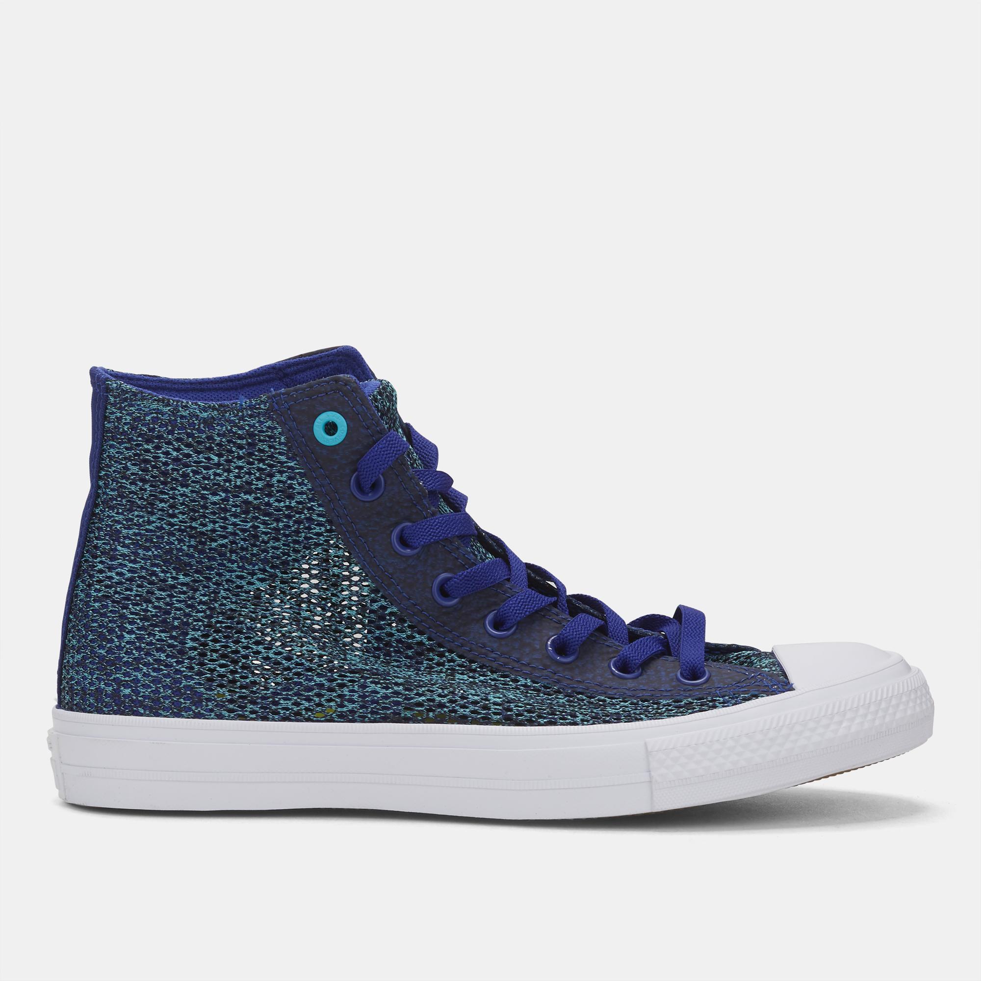 5b379cdd9bdd6c Shop Multi Converse Chuck Taylor All Star II Open Knit Hi-Top Shoe ...